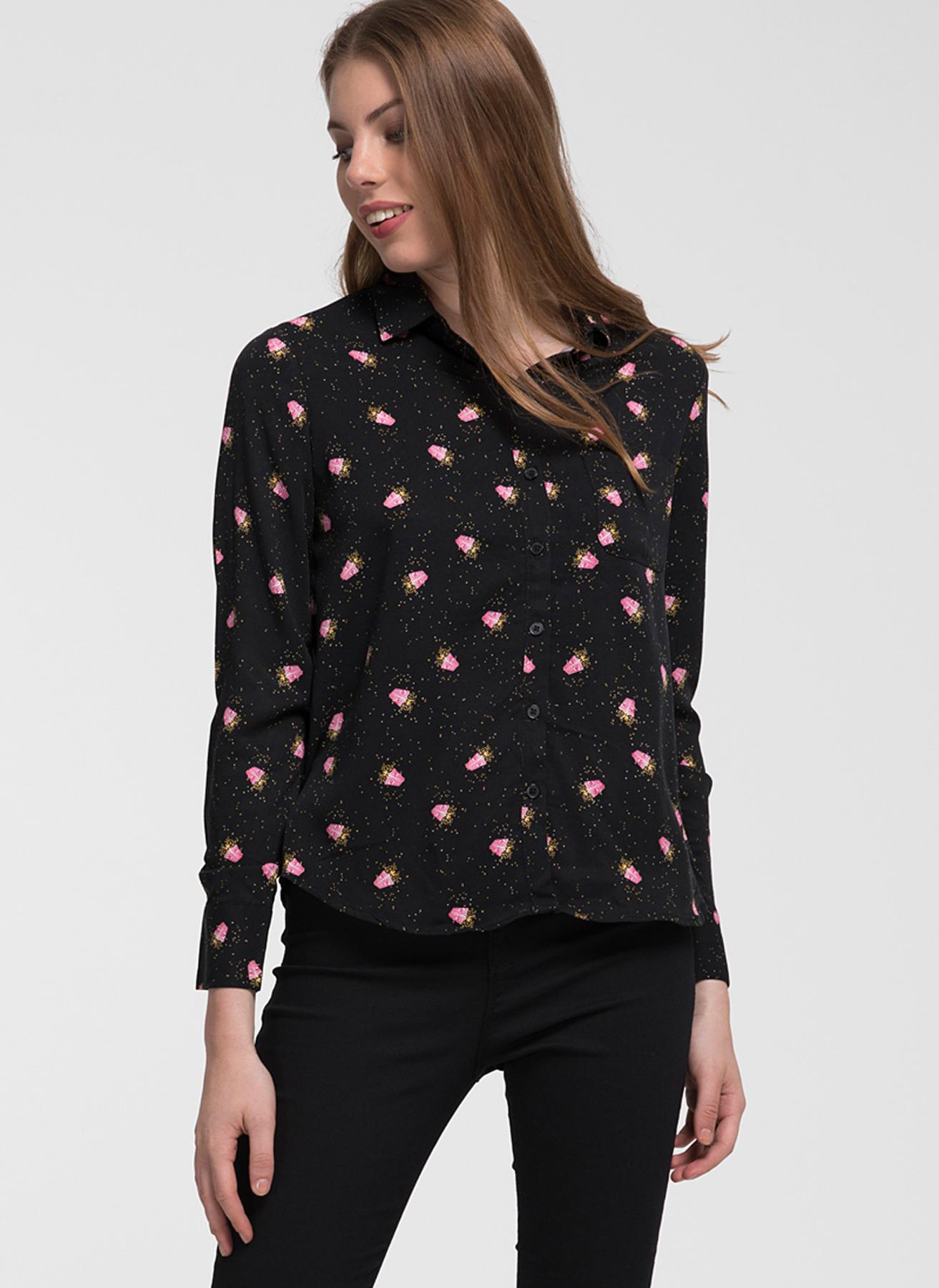 Loft Siyah Gömlek XS 5001976819004 Ürün Resmi