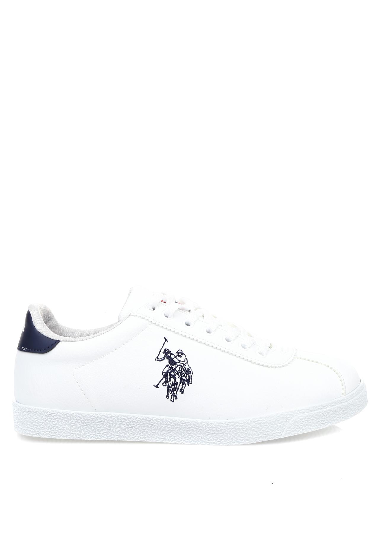 U.S. Polo Assn. Beyaz Düz Ayakkabı 39 5001977213004 Ürün Resmi