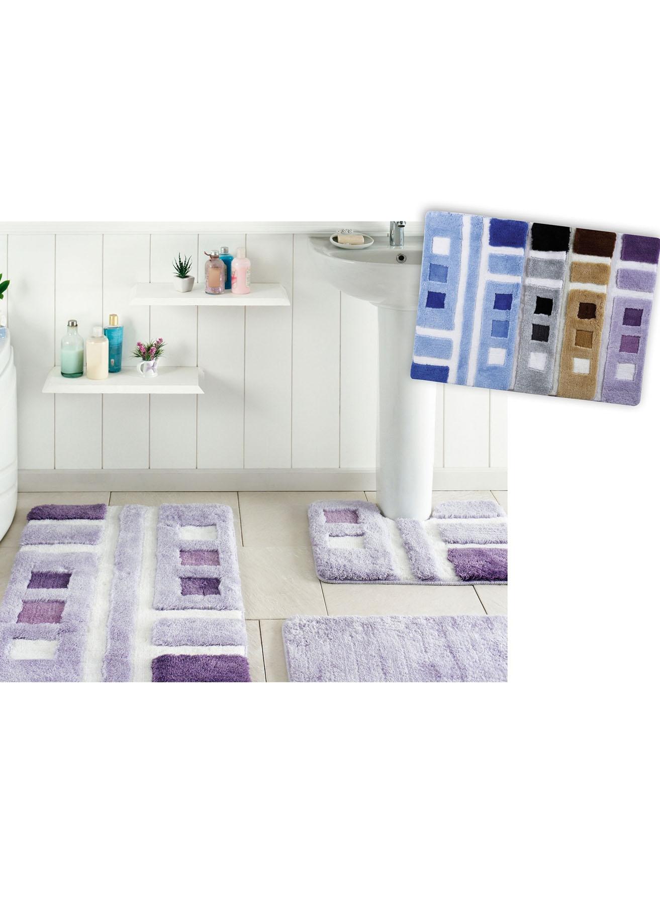 unisex Renksiz Taç Marlowe Paspas Seti 5002007321001 Ev Banyo Ürünleri