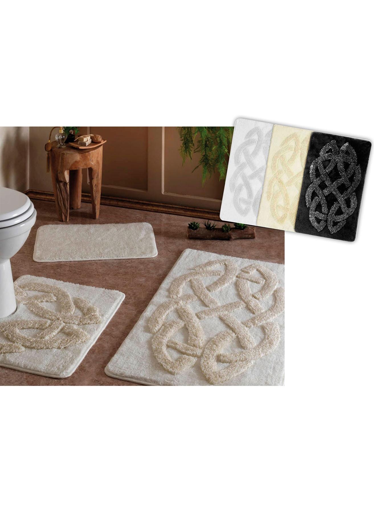 unisex Renksiz Taç Roselin Paspas Seti 5002007382001 Ev Banyo Ürünleri