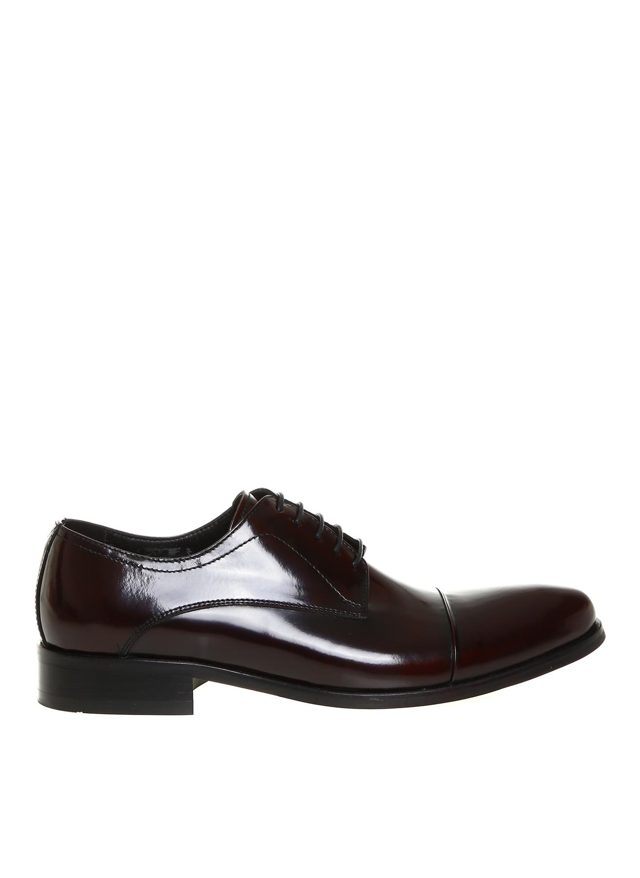 İnci Erkek Rugan Siyah Günlük Ayakkabı 42 5002027081003 Ürün Resmi