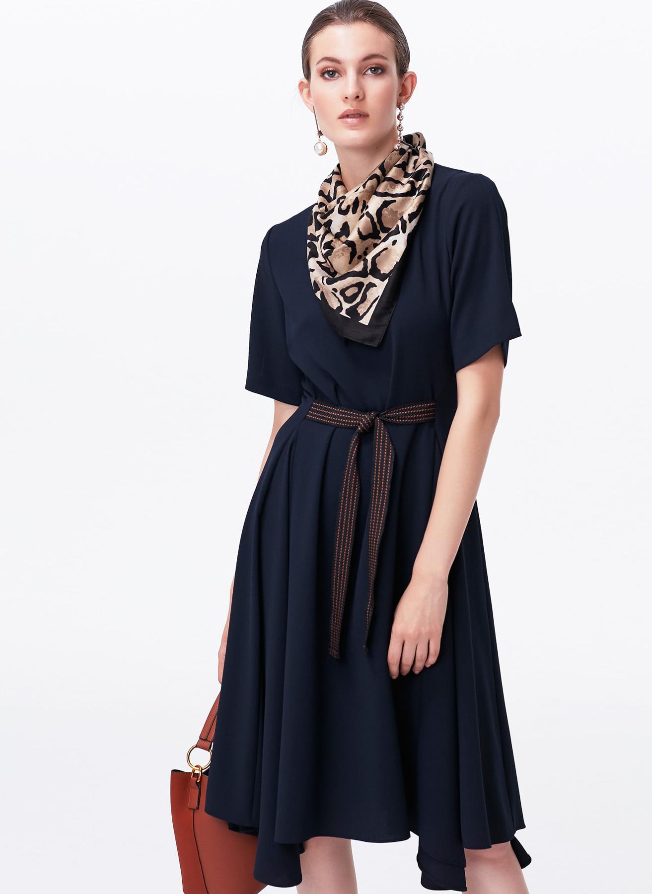 İpekyol Uzun Lacivert Elbise 38 5002301057003 Ürün Resmi