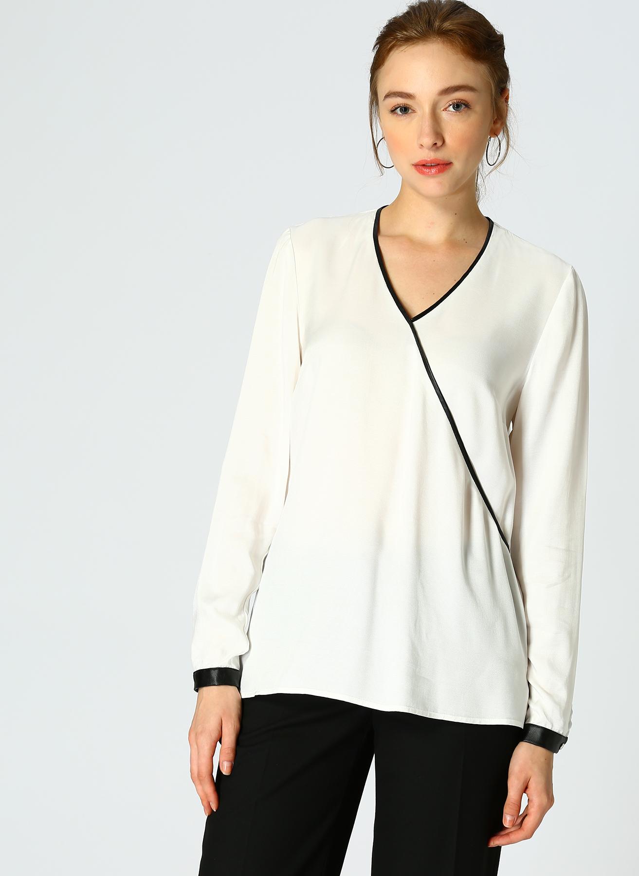 Naramaxx Anvelop Beyaz Bluz 36 5002302931001 Ürün Resmi