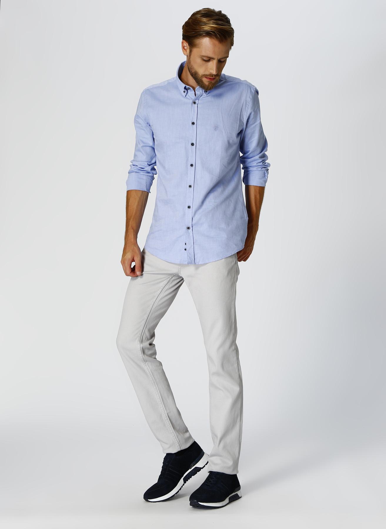 George Hogg Casual Bej Klasik Pantolon 31-33 5002303371001 Ürün Resmi