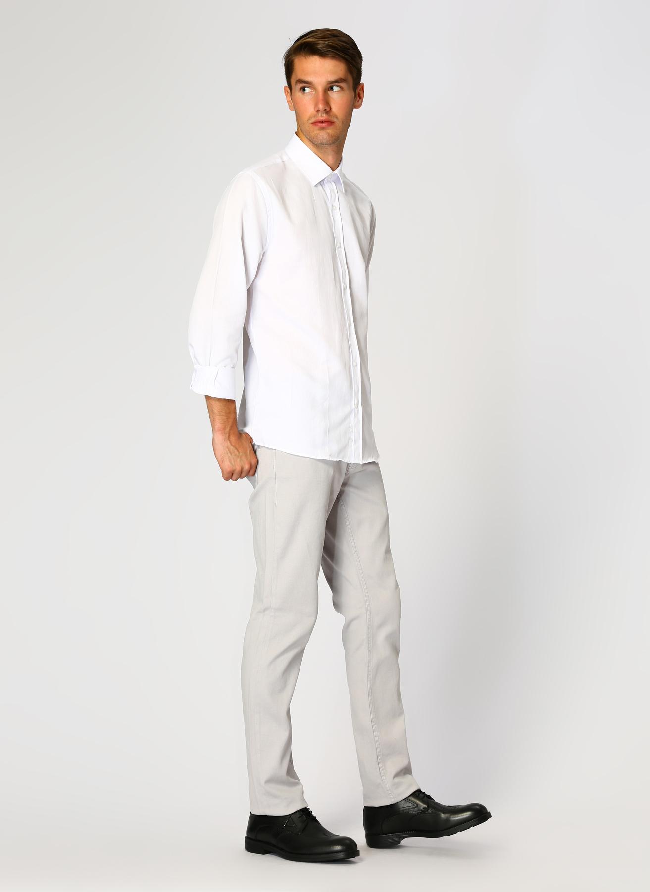 George Hogg Açık Gri Klasik Pantolon 32-33 5002303380001 Ürün Resmi