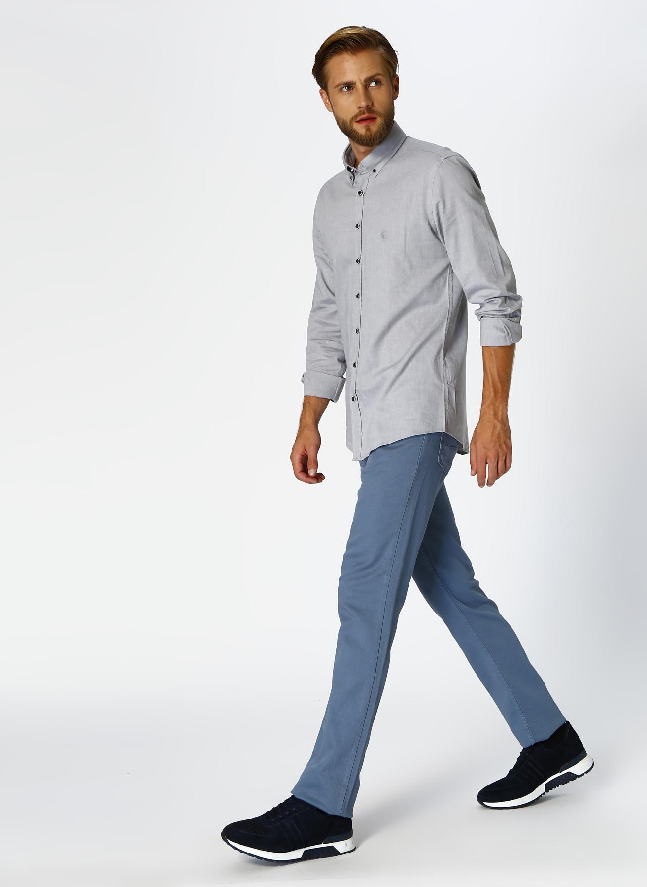 George Hogg Casual Mavi Klasik Pantolon 31-33 5002303387001 Ürün Resmi