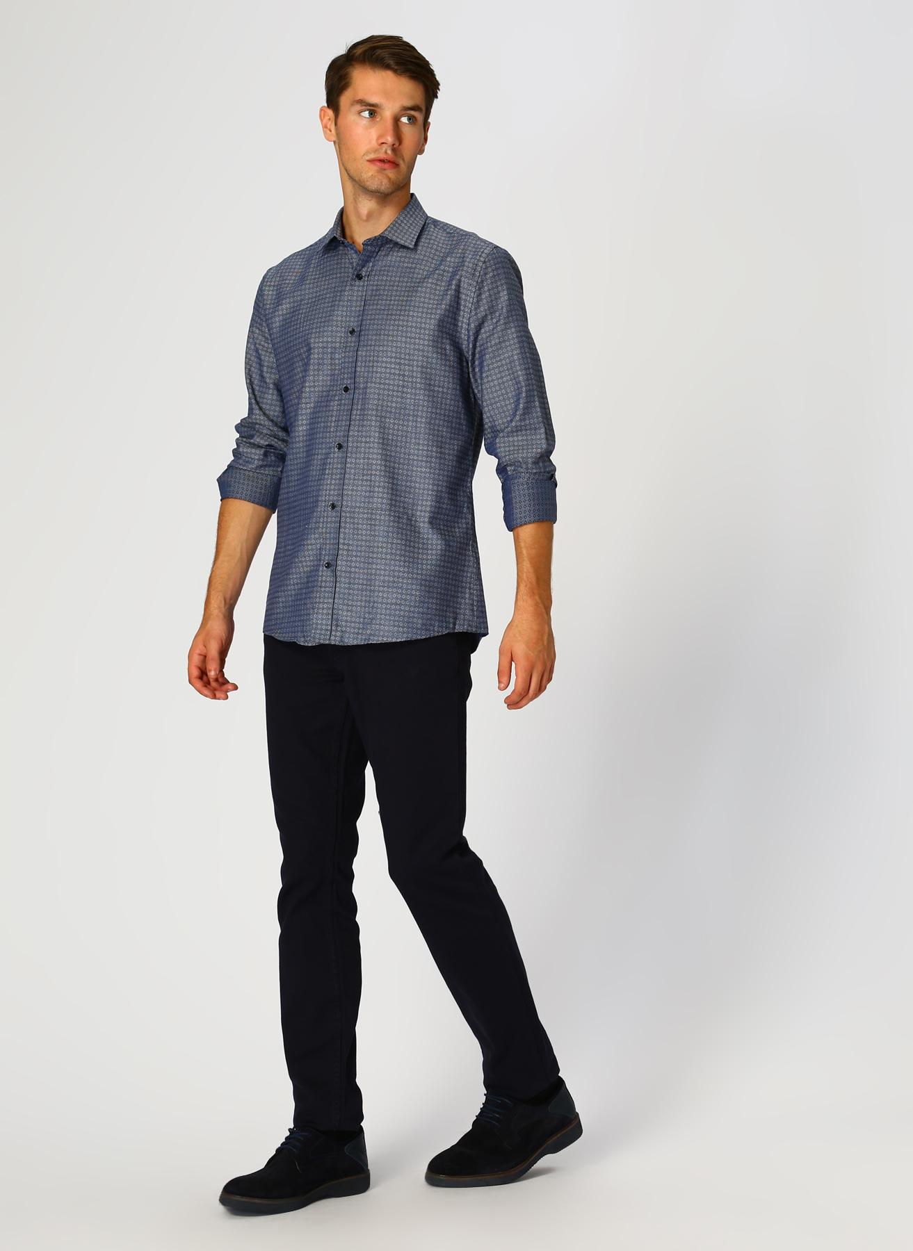 George Hogg Lacivert Klasik Pantolon 32-33 5002303427001 Ürün Resmi