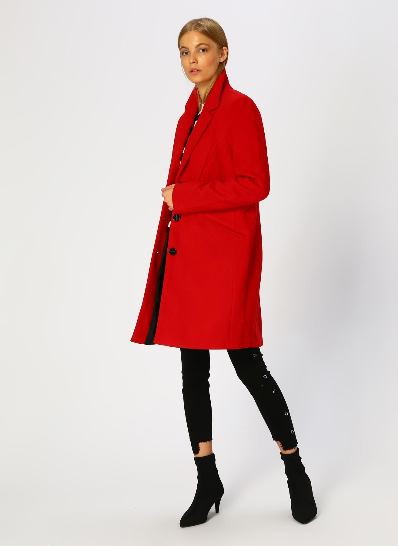 Vero Moda Kırmızı Mont S 5002305562003 Ürün Resmi