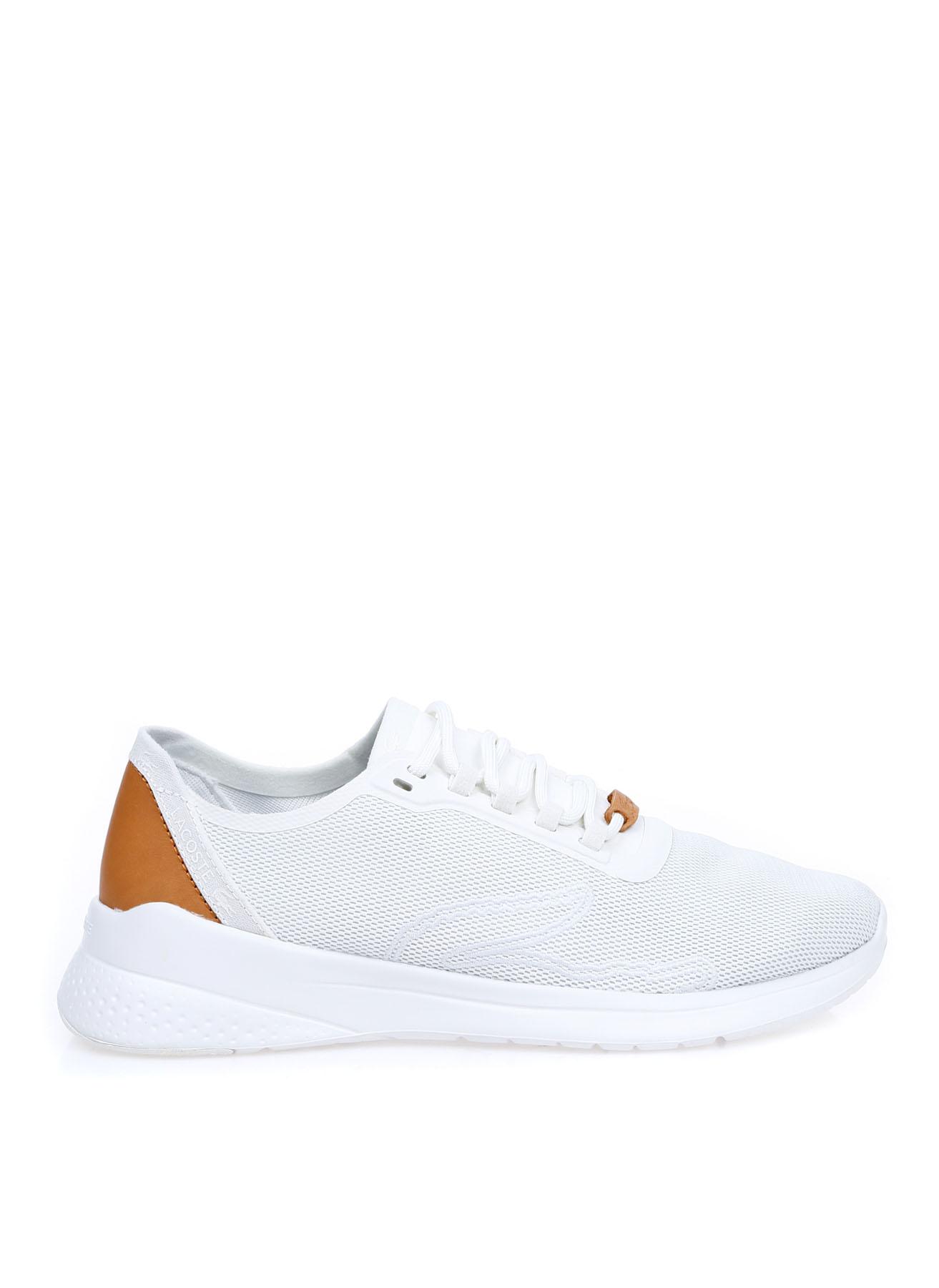 Lacoste Kadın Kanvas Beyaz Lifestyle Ayakkabı 39 5002312523004 Ürün Resmi