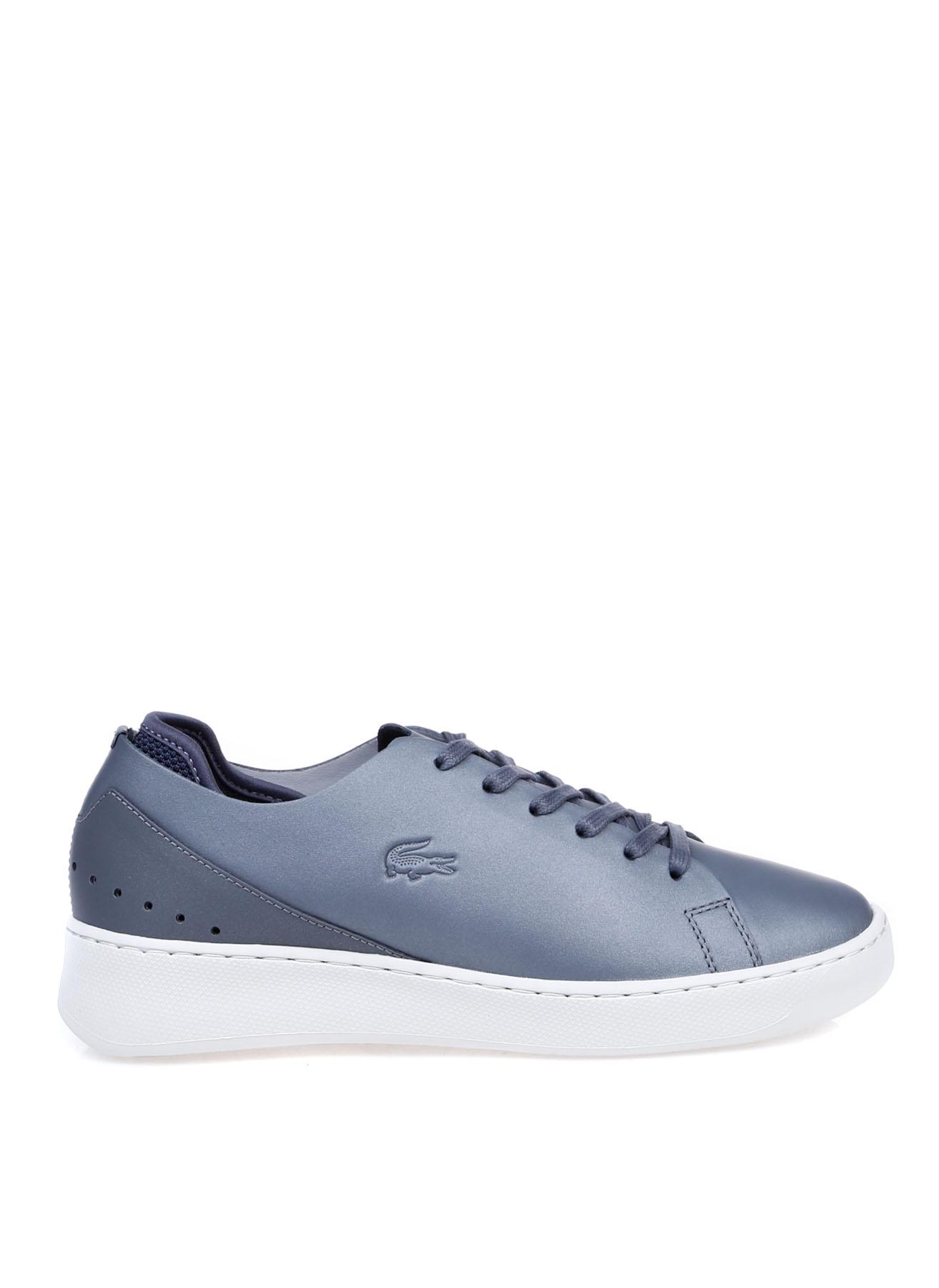 Lacoste Kadın Deri Gri Sneaker 38 5002312540003 Ürün Resmi