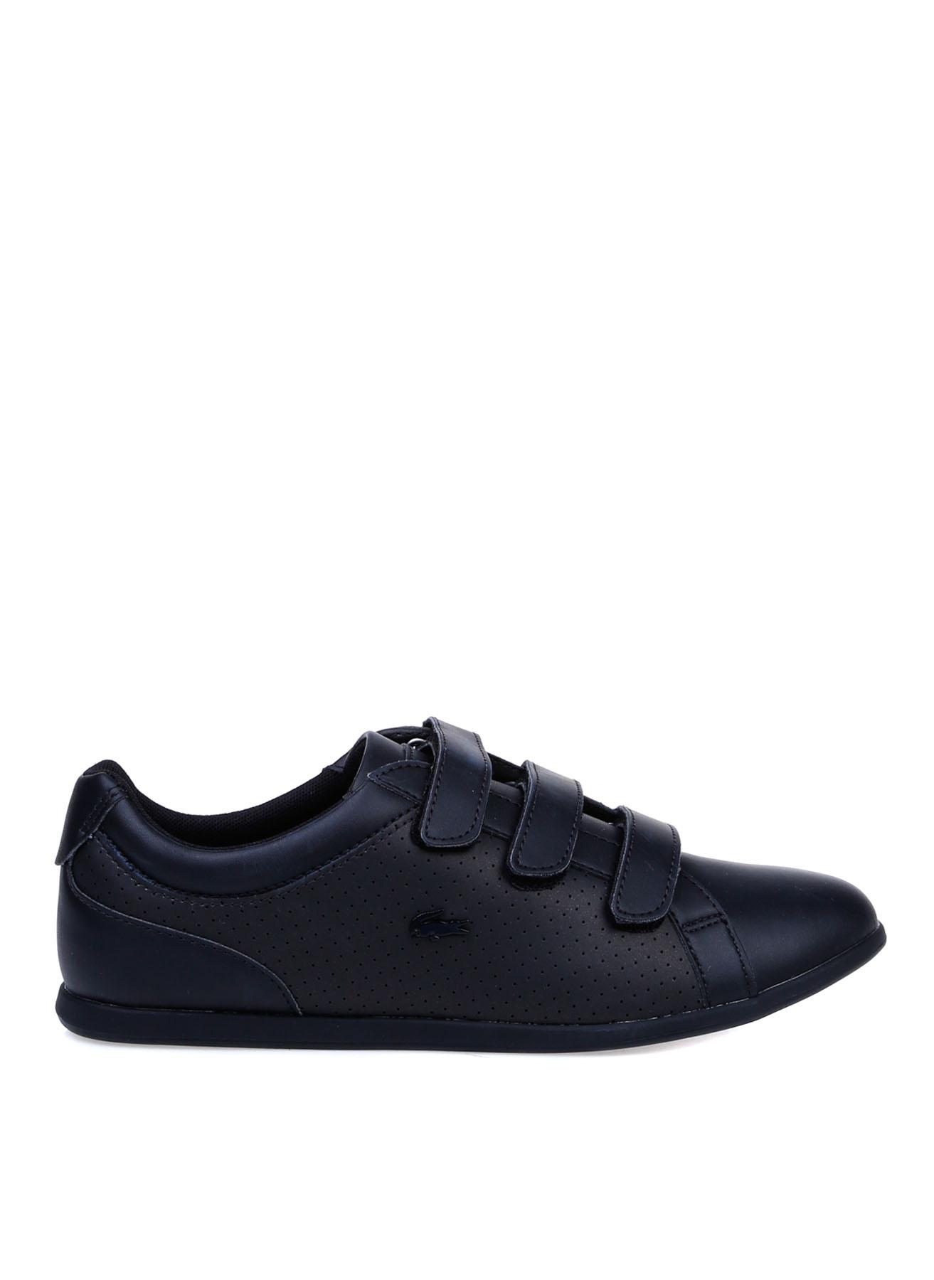 Lacoste Kadın Deri Cırtcırtlı Siyah Sneaker 36 5002312550001 Ürün Resmi