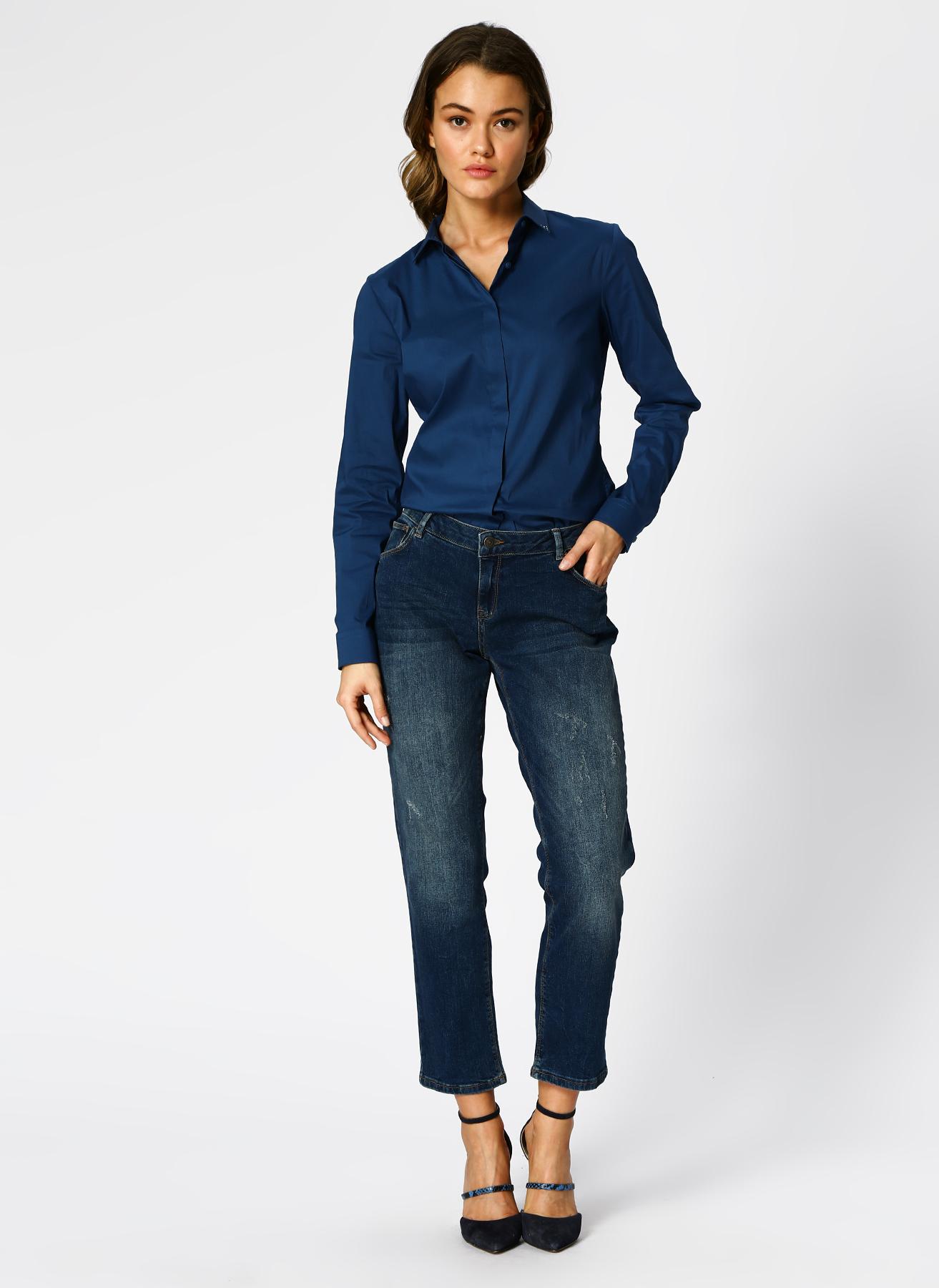 Pierre Cardin Lacivert Denim Pantolon 38 5002313209003 Ürün Resmi