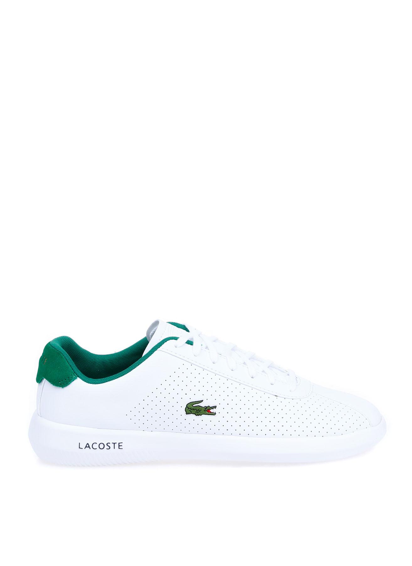 Lacoste Erkek Deri Beyaz Sneaker 41 5002313523001 Ürün Resmi