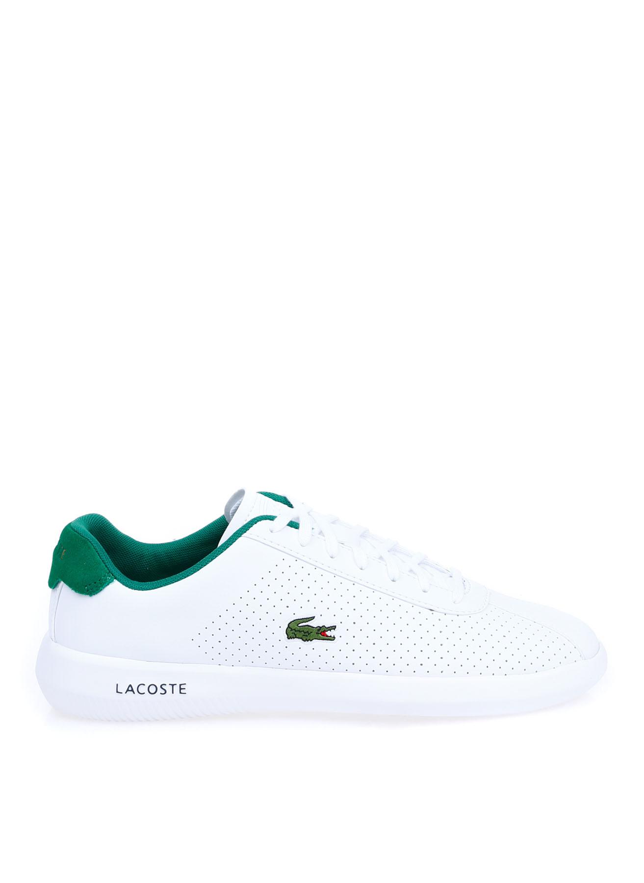 Lacoste Erkek Deri Beyaz Sneaker 42 5002313524001 Ürün Resmi