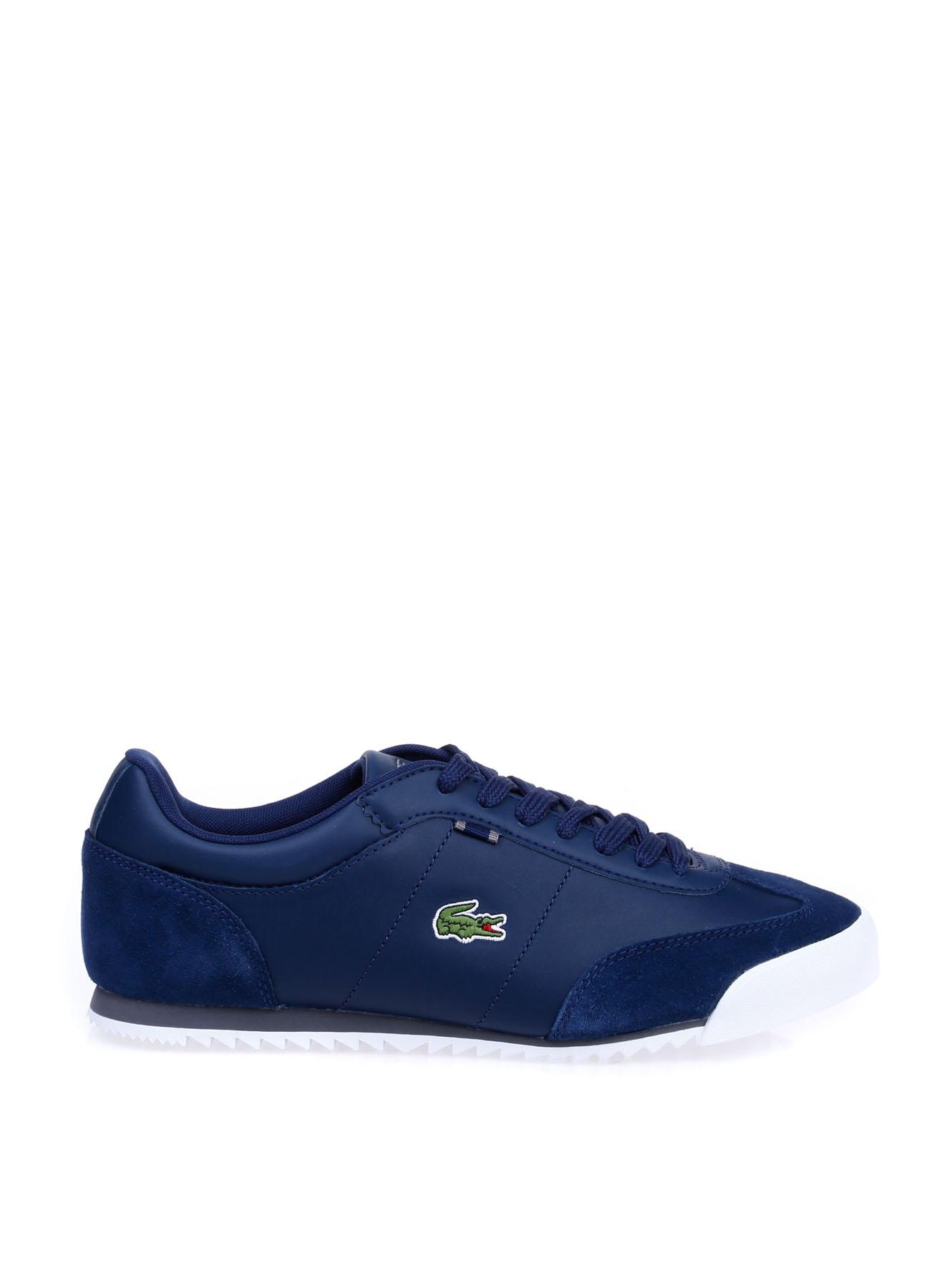 Lacoste Erkek Deri Mavi Lifestyle Ayakkabı 44 5002314213006 Ürün Resmi