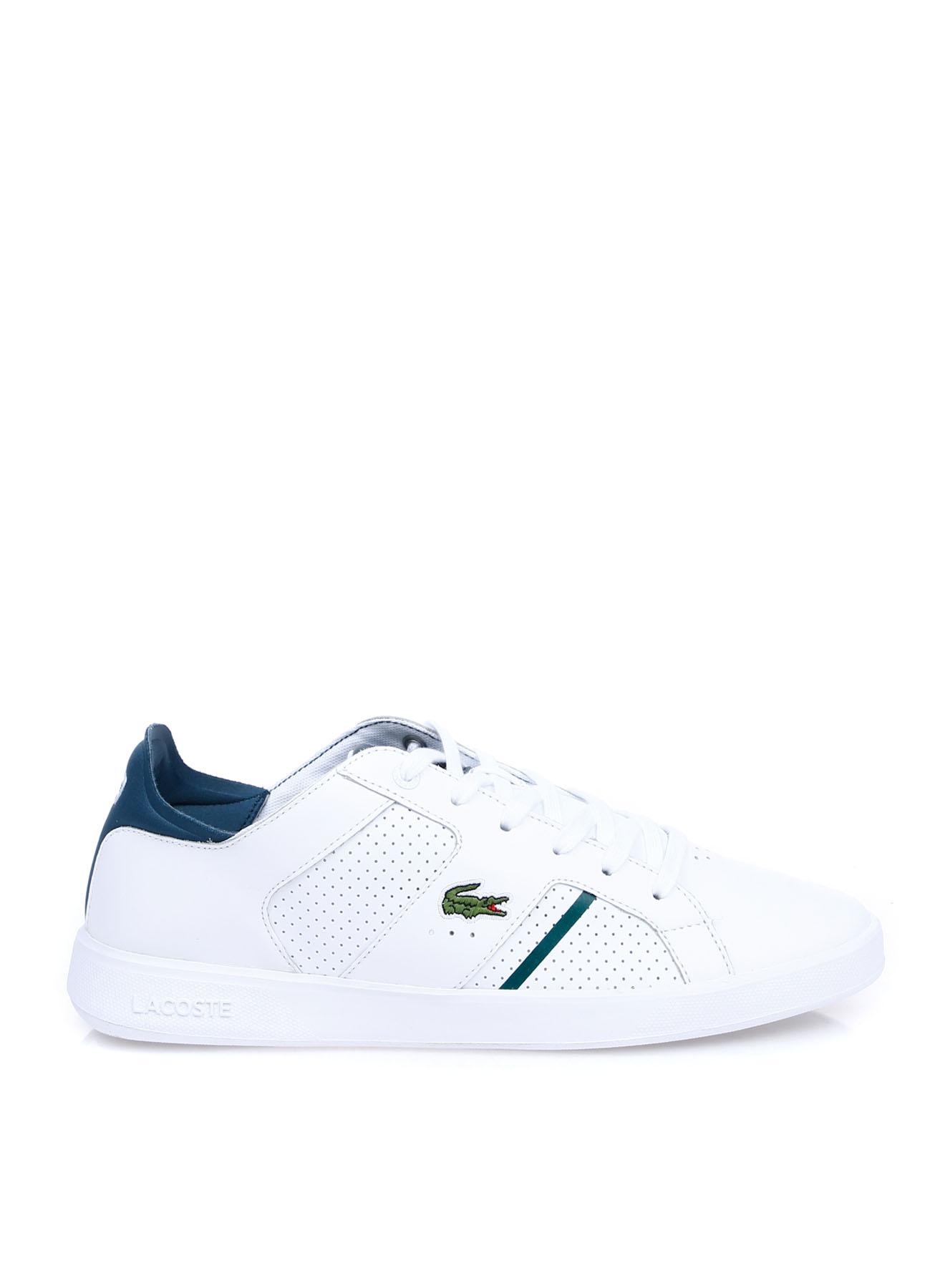 Lacoste Erkek Deri Beyaz Lifestyle Ayakkabı 40 5002314217002 Ürün Resmi