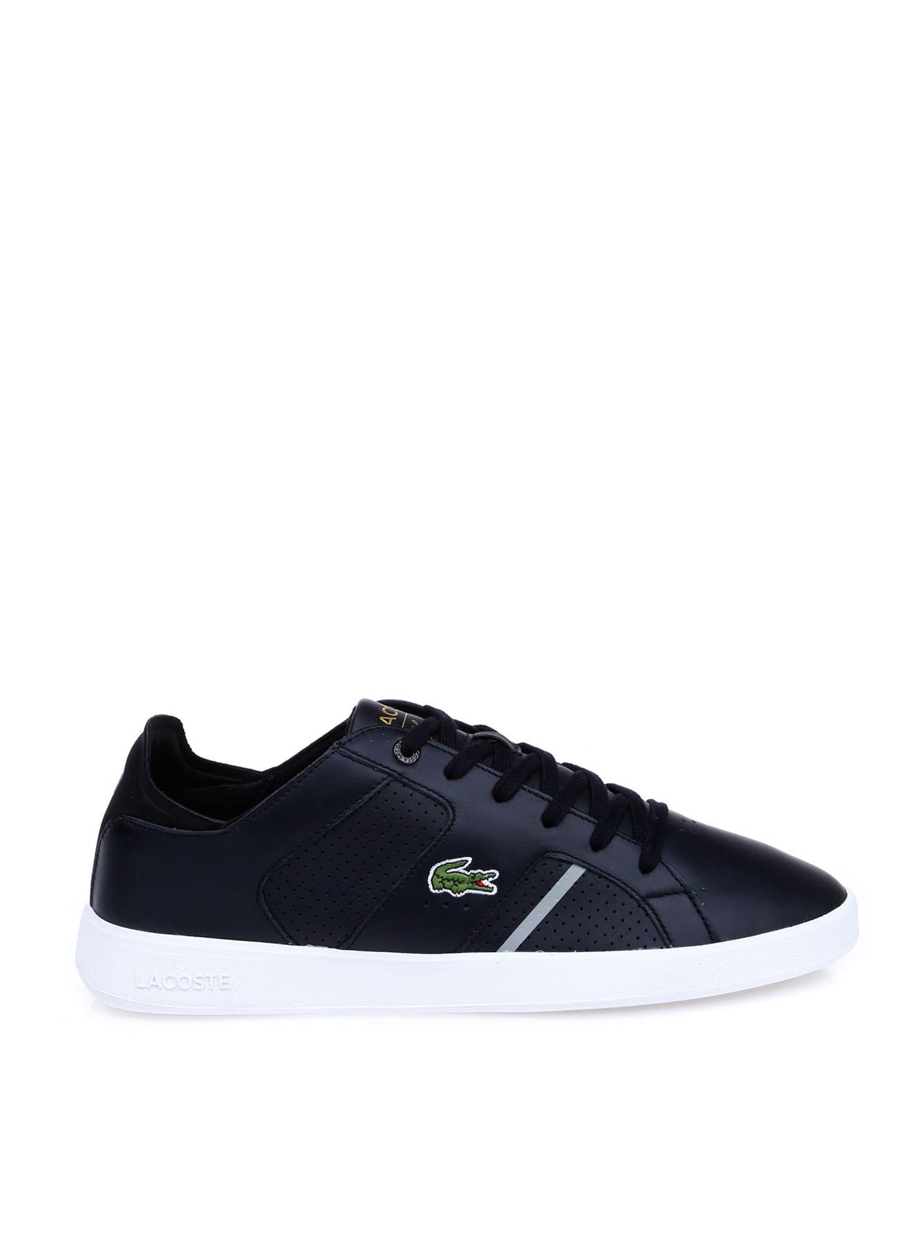 Lacoste Erkek Deri Siyah Lifestyle Ayakkabı 42 5002314218004 Ürün Resmi