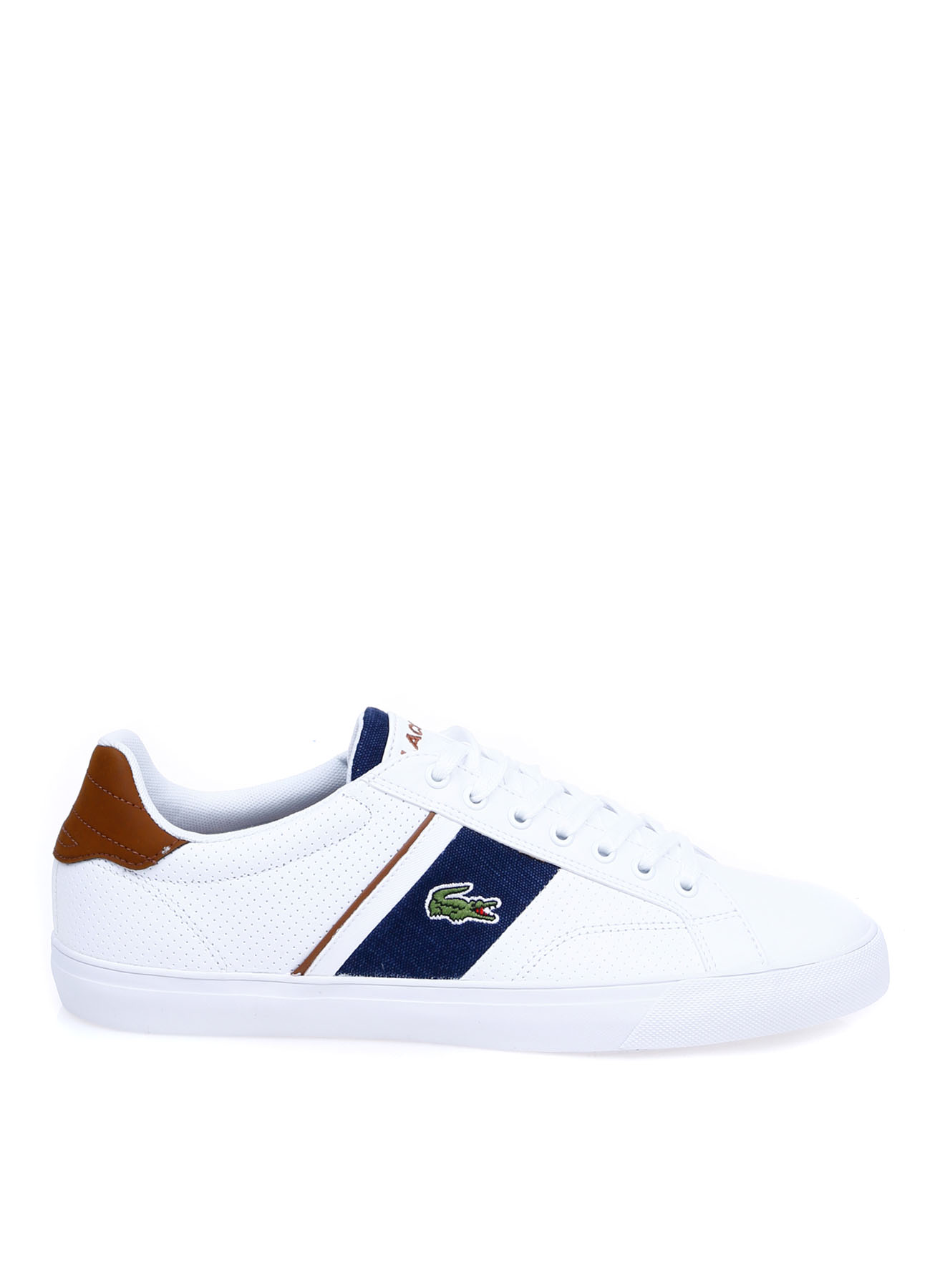 Lacoste Erkek Deri Beyaz Lifestyle Ayakkabı 40 5002314232002 Ürün Resmi