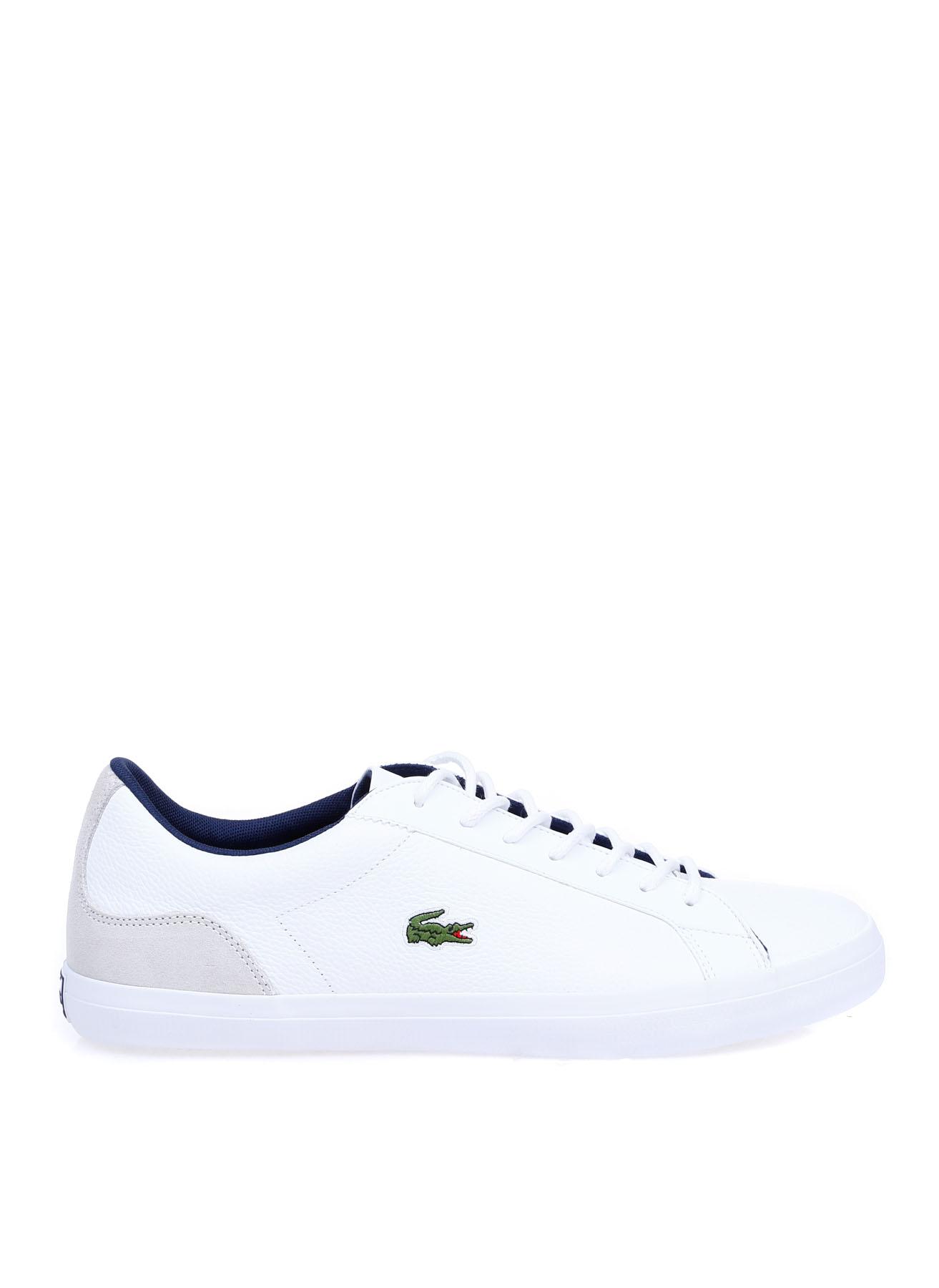 Lacoste Erkek Deri Beyaz Lifestyle Ayakkabı 44 5002314237006 Ürün Resmi