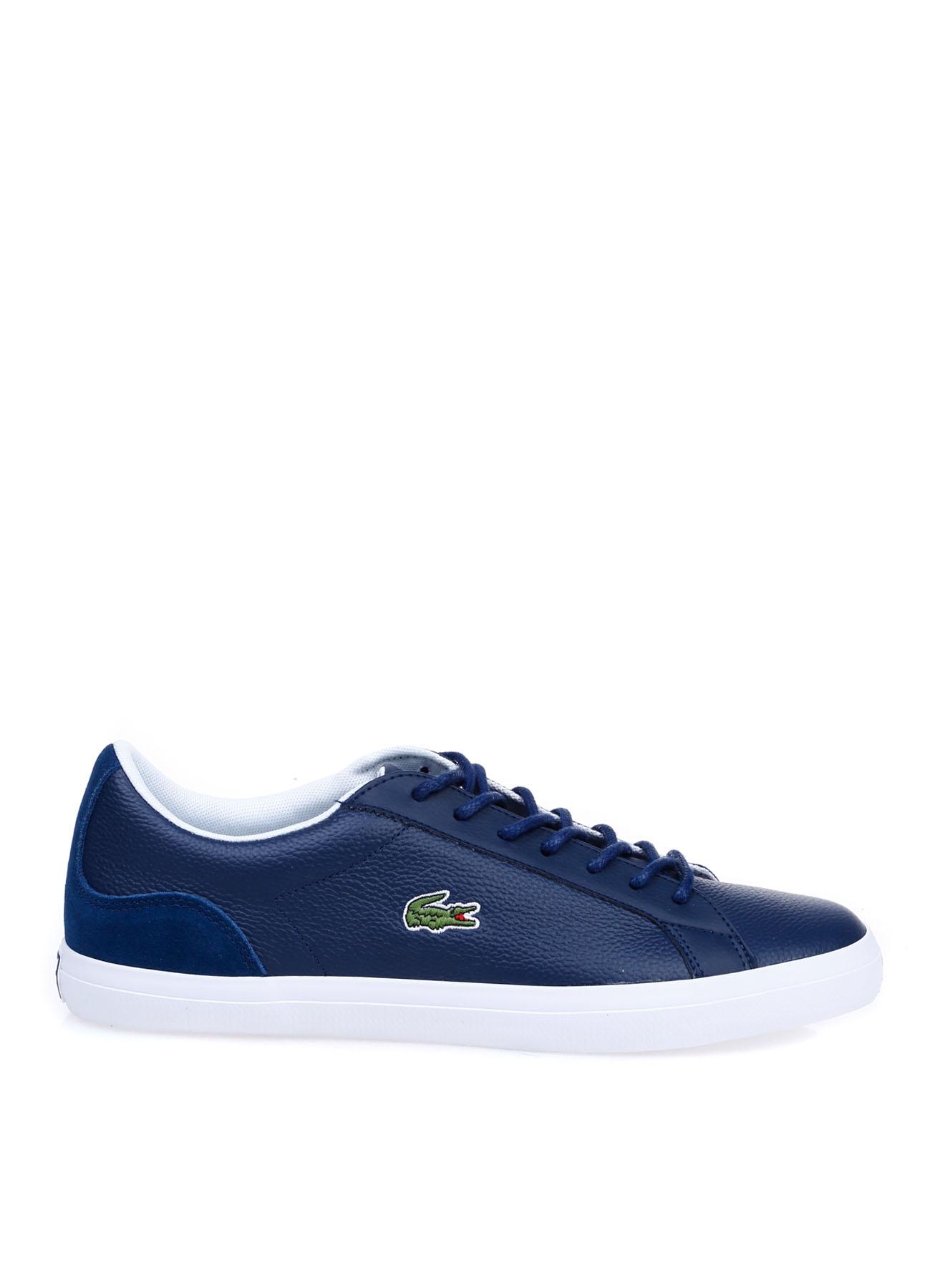 Lacoste Erkek Deri Lacivert Lifestyle Ayakkabı 45 5002314238001 Ürün Resmi