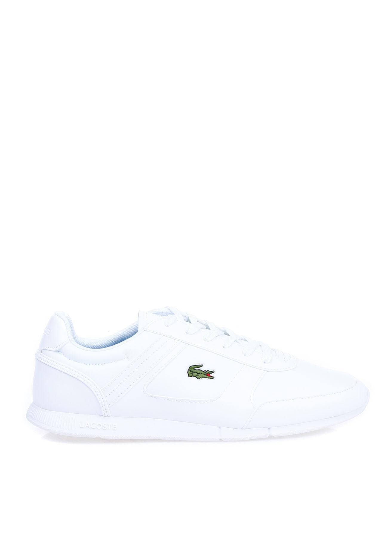 Lacoste Erkek Deri Beyaz Lifestyle Ayakkabı 42 5002314242004 Ürün Resmi