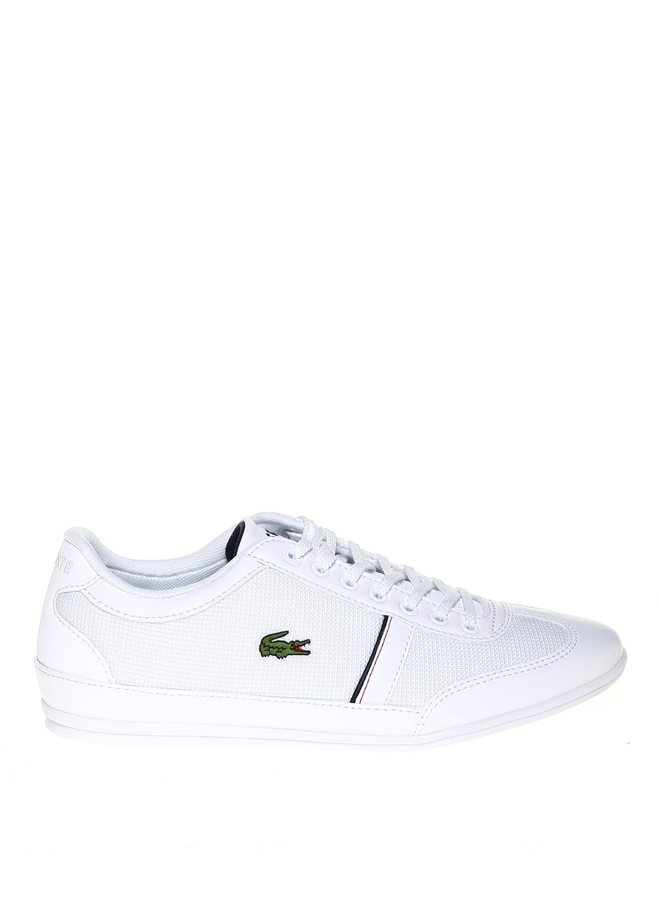 Lacoste Bağcıklı Beyaz Lifestyle Ayakkabı 41 5002314243003 Ürün Resmi
