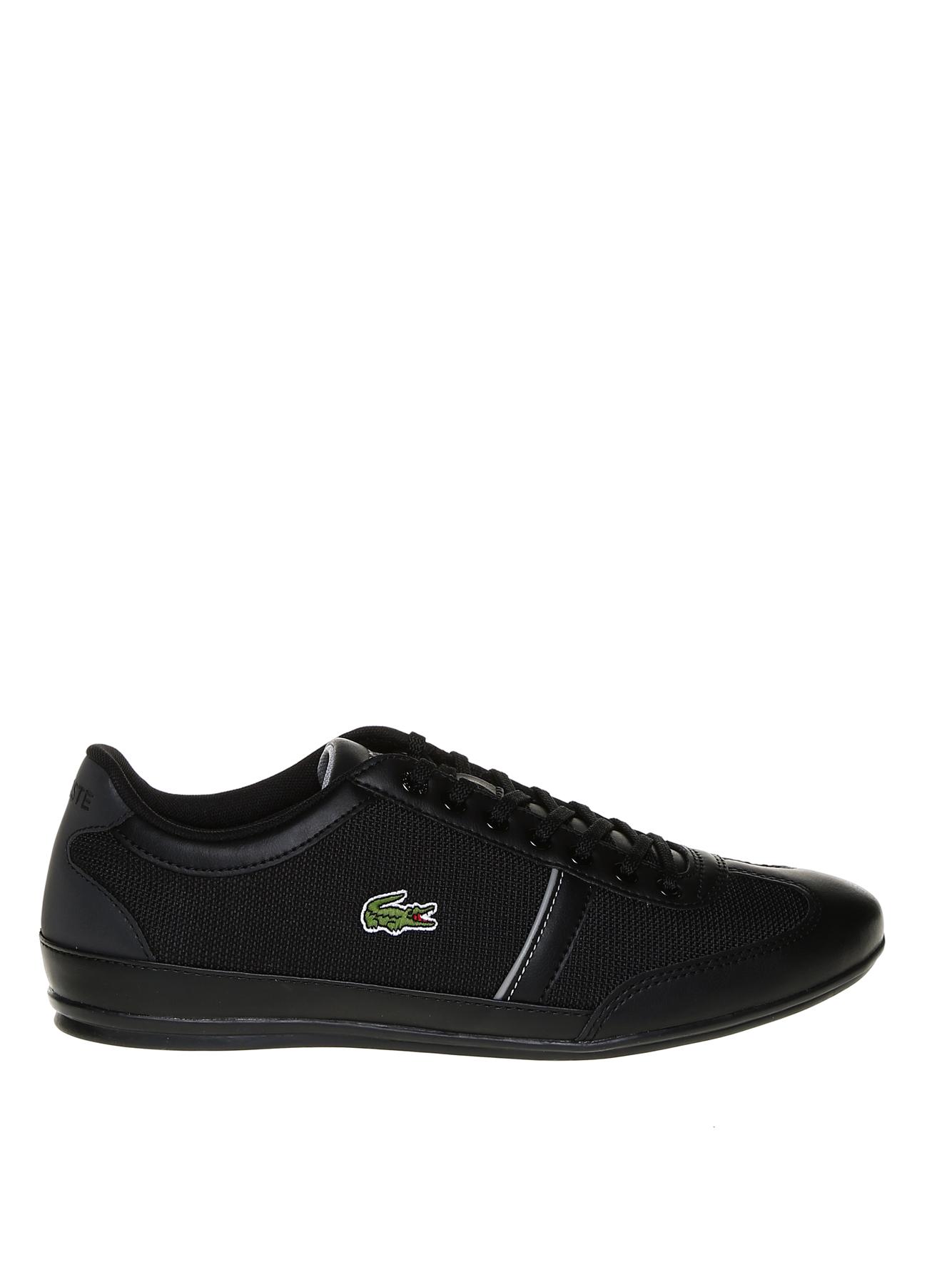 Lacoste Bağcıklı Siyah Lifestyle Ayakkabı 41 5002314244003 Ürün Resmi