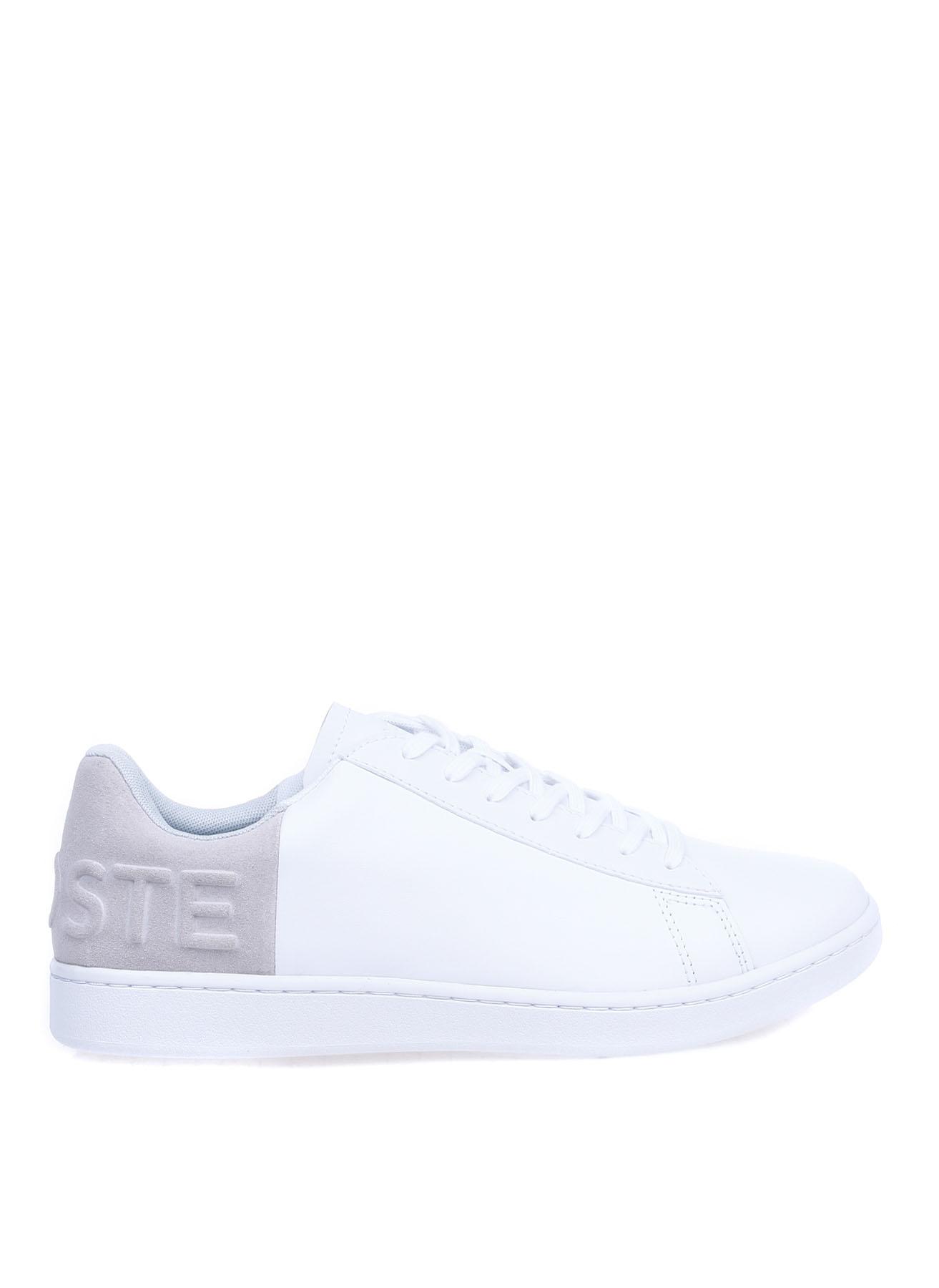 Lacoste Erkek Deri Beyaz Lifestyle Ayakkabı 43 5002314251005 Ürün Resmi