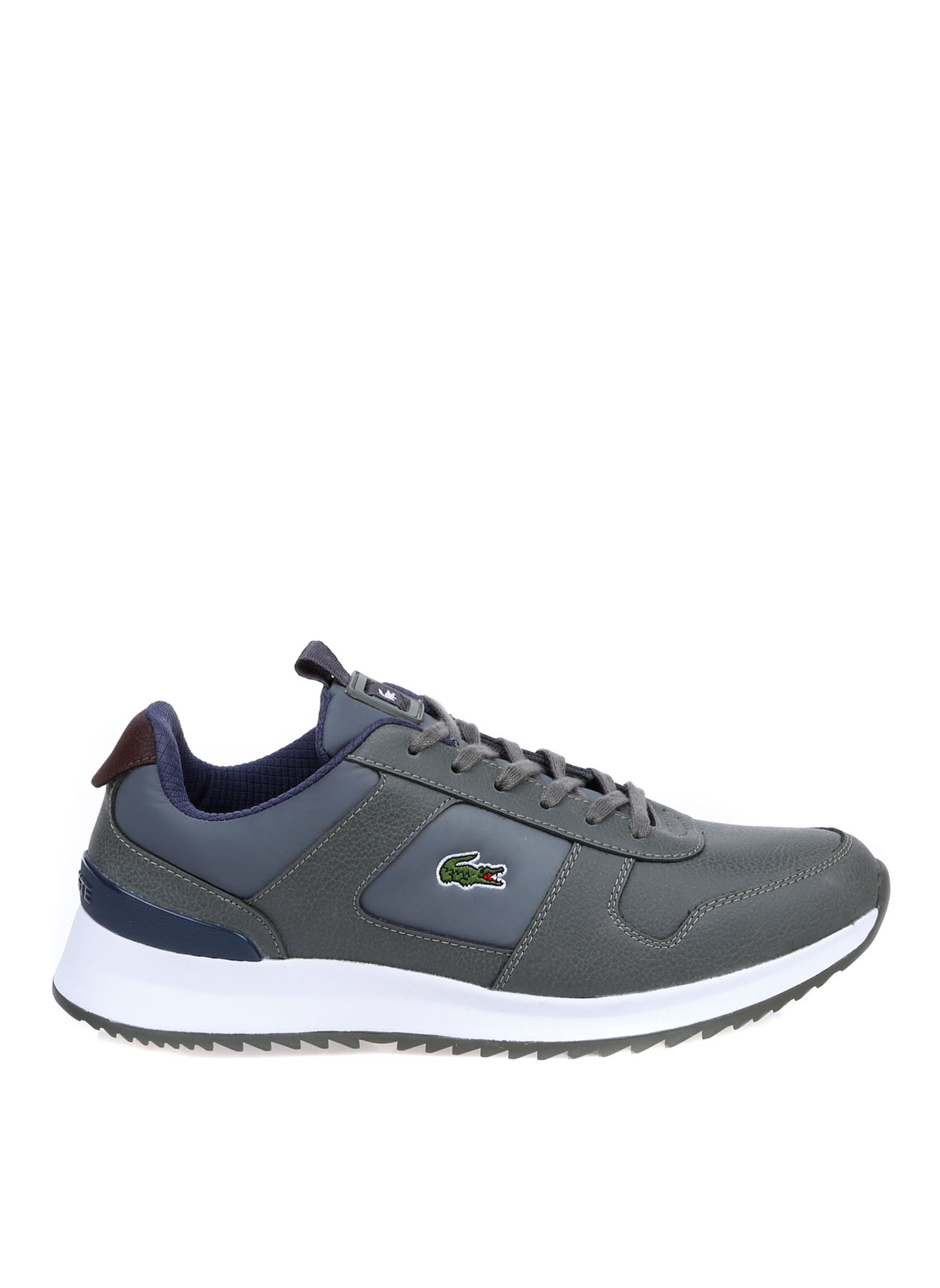 Lacoste Erkek Lacivert Gri Lifestyle Ayakkabı 40 5002314256002 Ürün Resmi