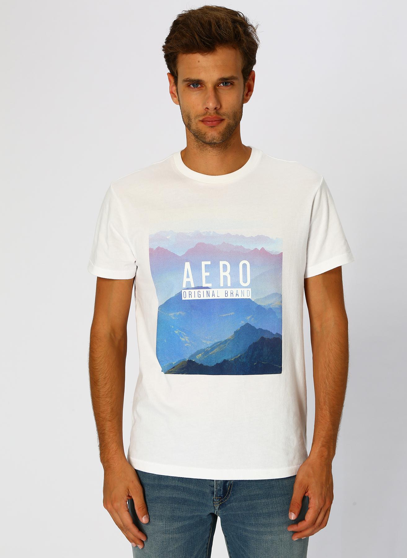 Aeropostale Yazılı Beyaz T-Shirt XL 5002320237004 Ürün Resmi