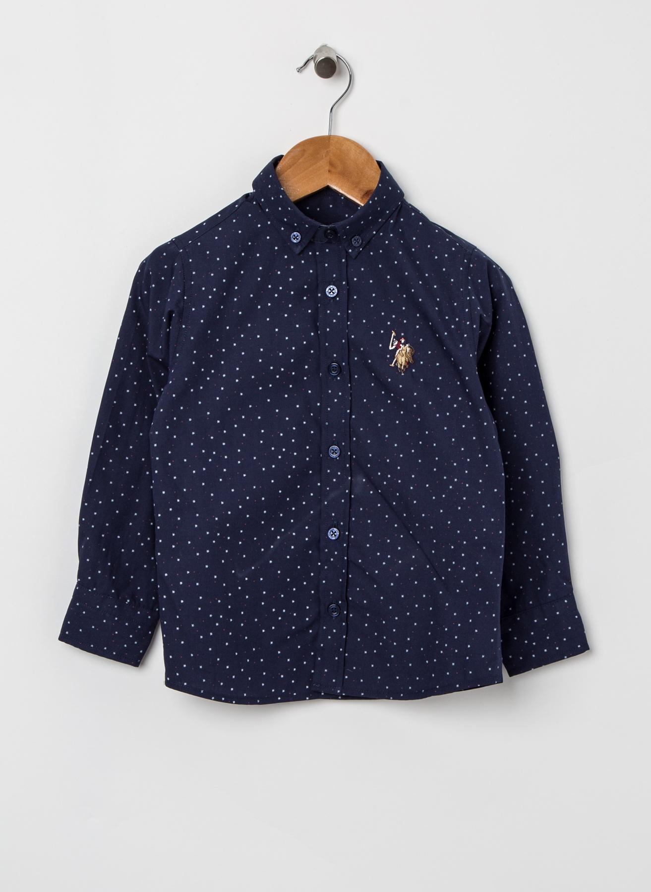 U.S. Polo Assn. Saks Gömlek 11 Yaş 5002320555009 Ürün Resmi