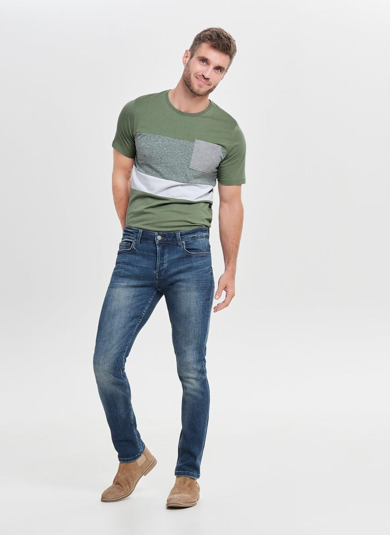 Only & Sons Slim Fit Denim Pantolon 30-34 5002323550004 Ürün Resmi
