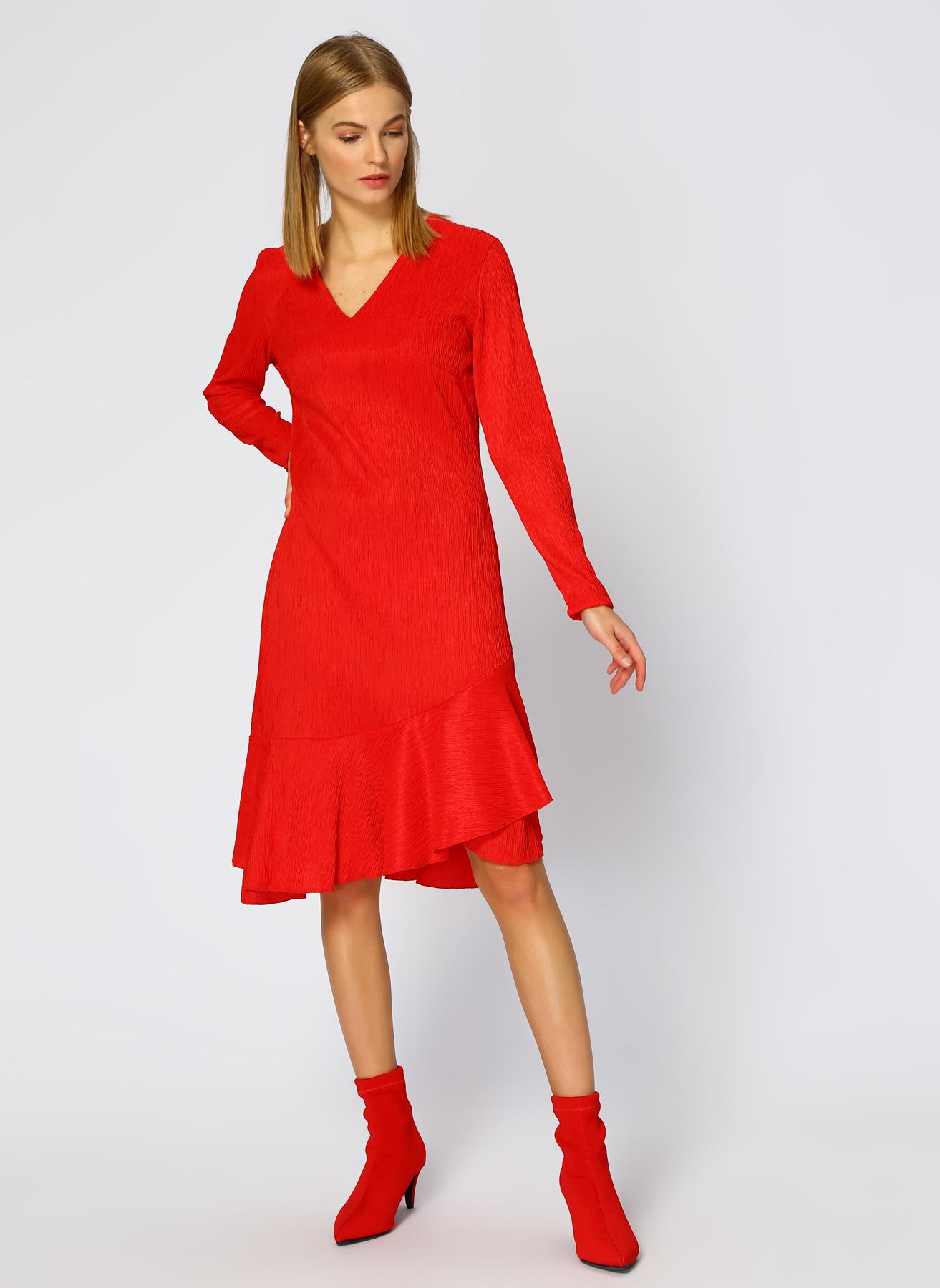 Random Kırmızı Elbise 40 5002324389004 Ürün Resmi