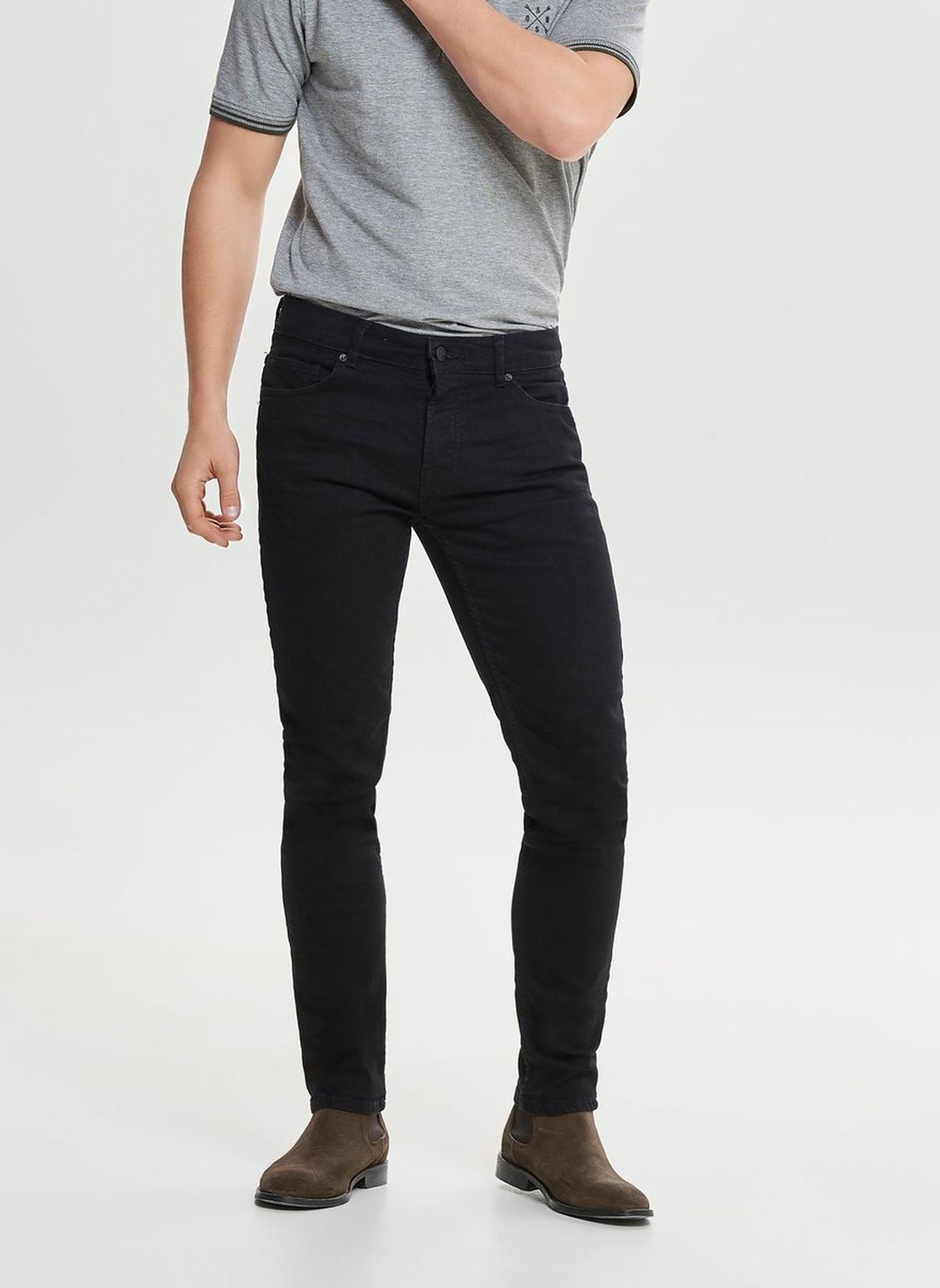 Only & Sons Siyah Denim Pantolon 28-30 5002326722001 Ürün Resmi