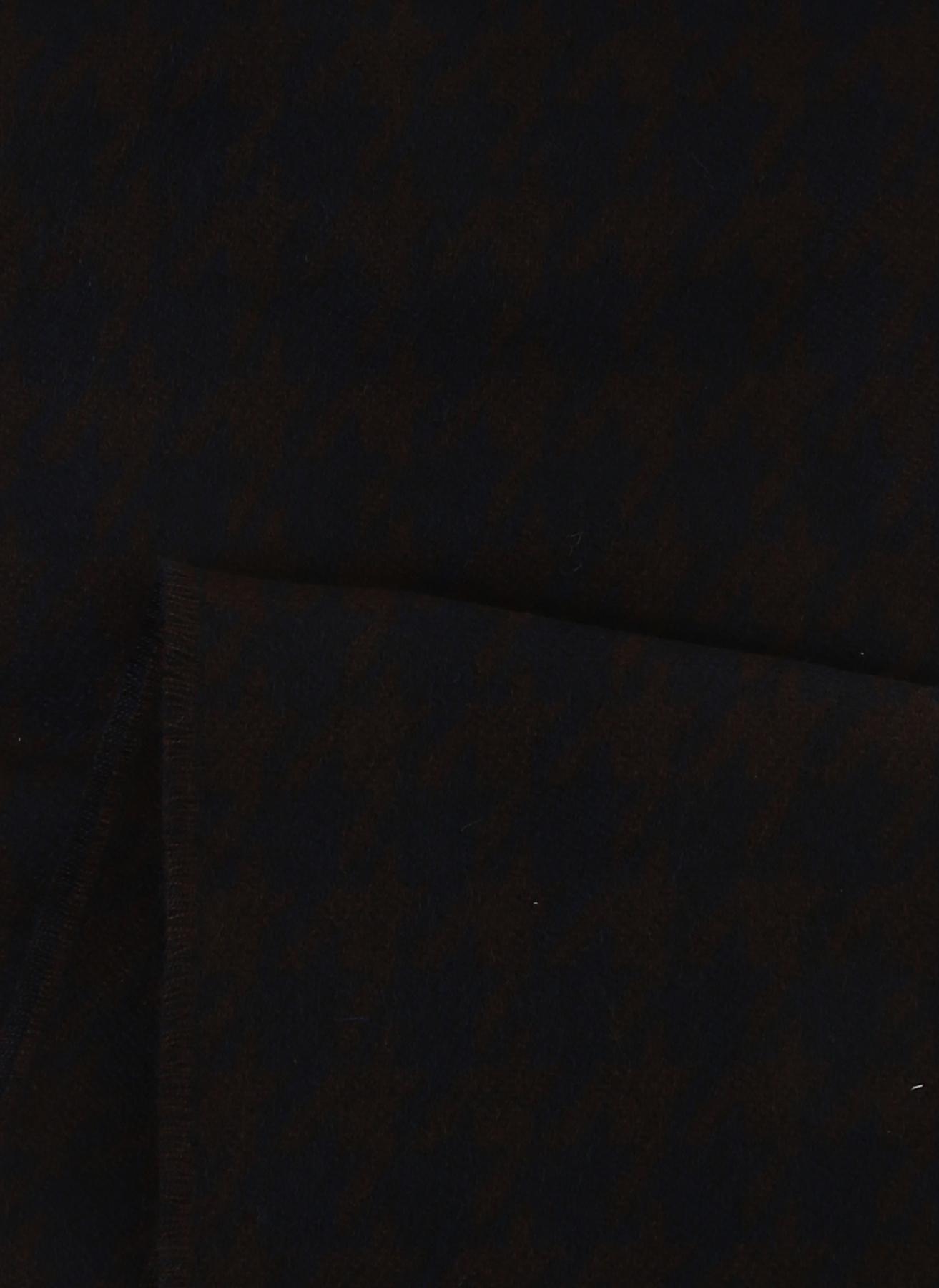 George Hogg Lacivert - Kahverengi Atkı 0 5002327166001 Ürün Resmi