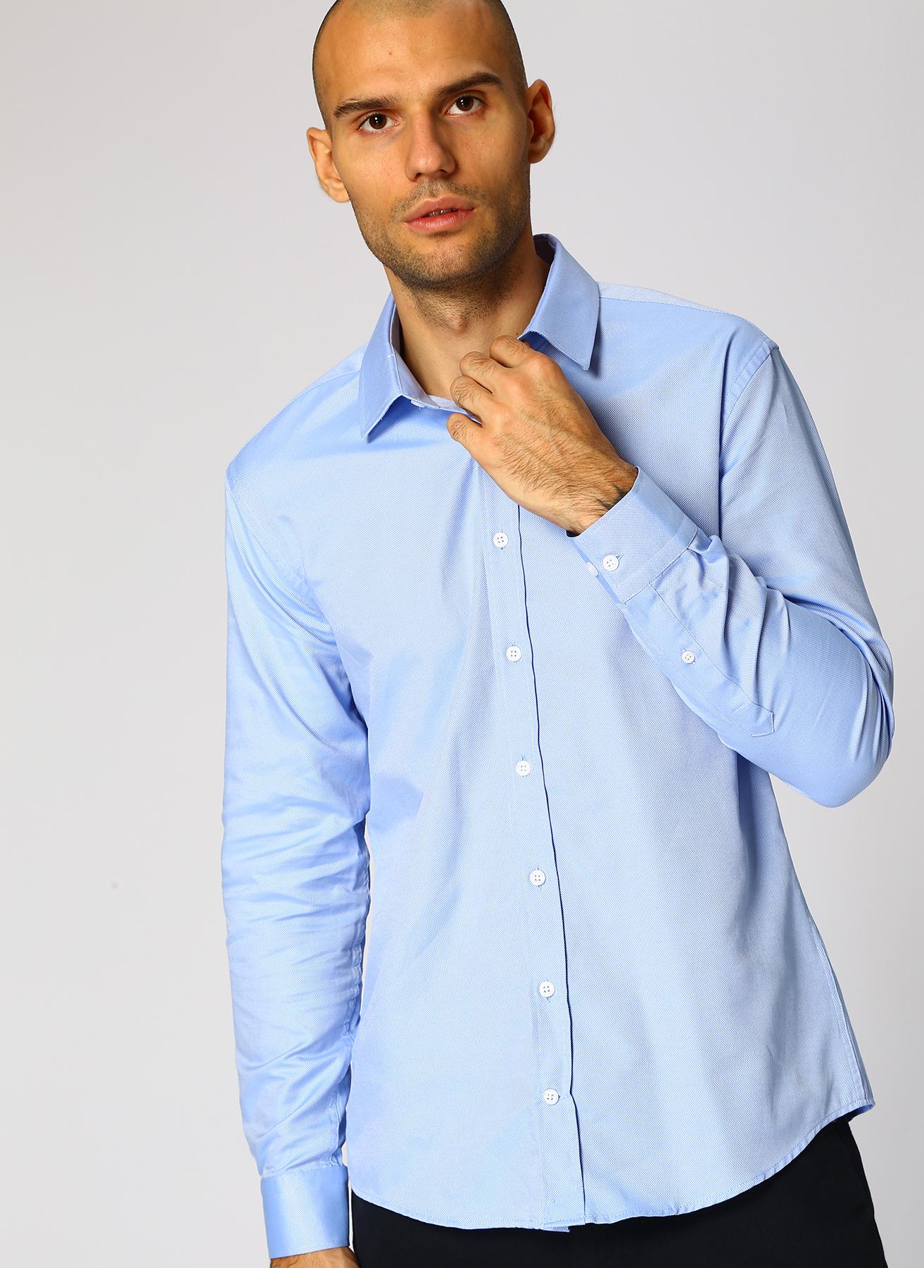 George Hogg Mavi Gömlek 40 5002327174002 Ürün Resmi