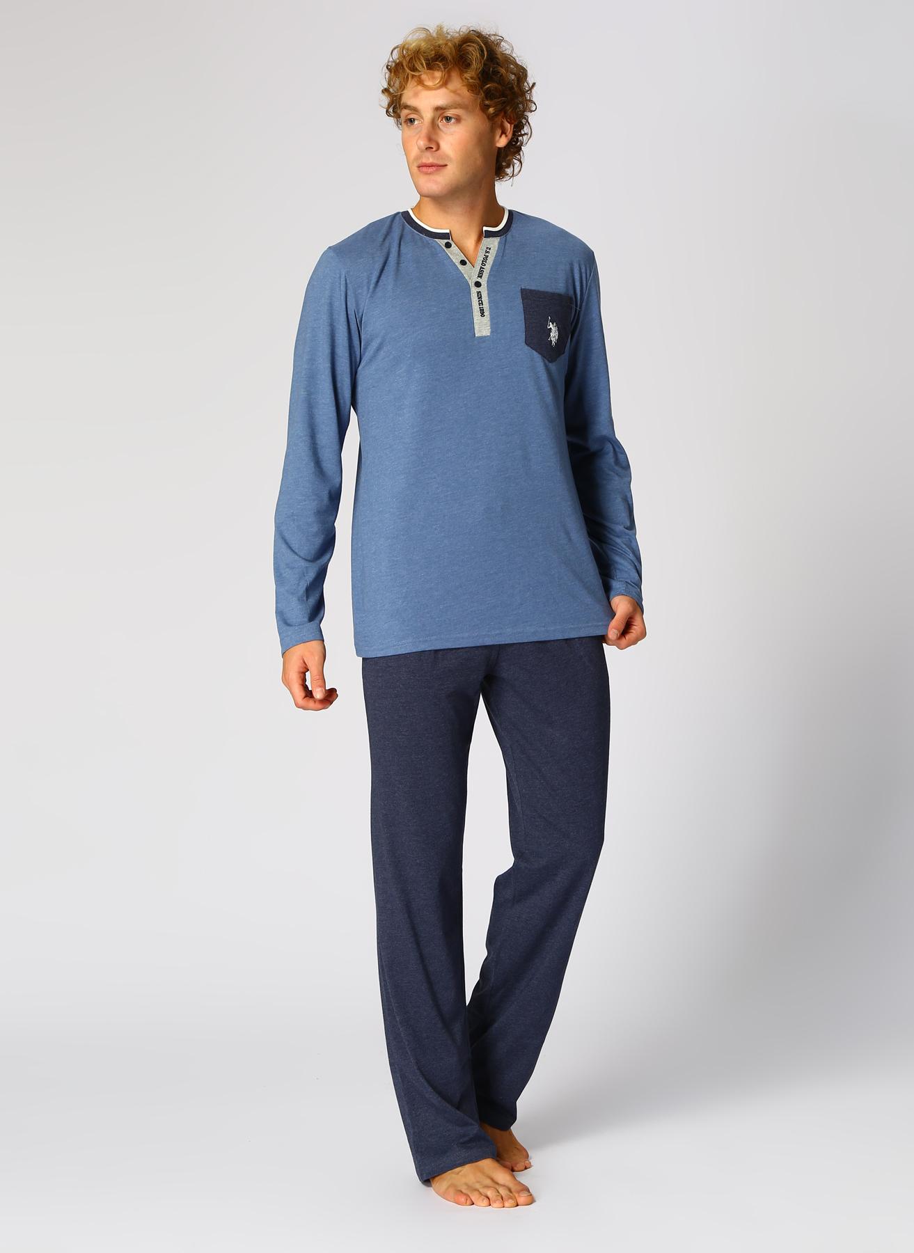 U.S. Polo Assn. Pijama Takımı 2XL 5002327486001 Ürün Resmi