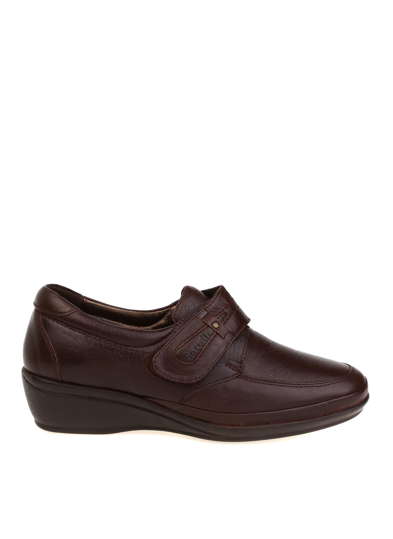 Forelli Deri Cırtcırtlı Kahverengi Düz Ayakkabı 41 5002340442006 Ürün Resmi