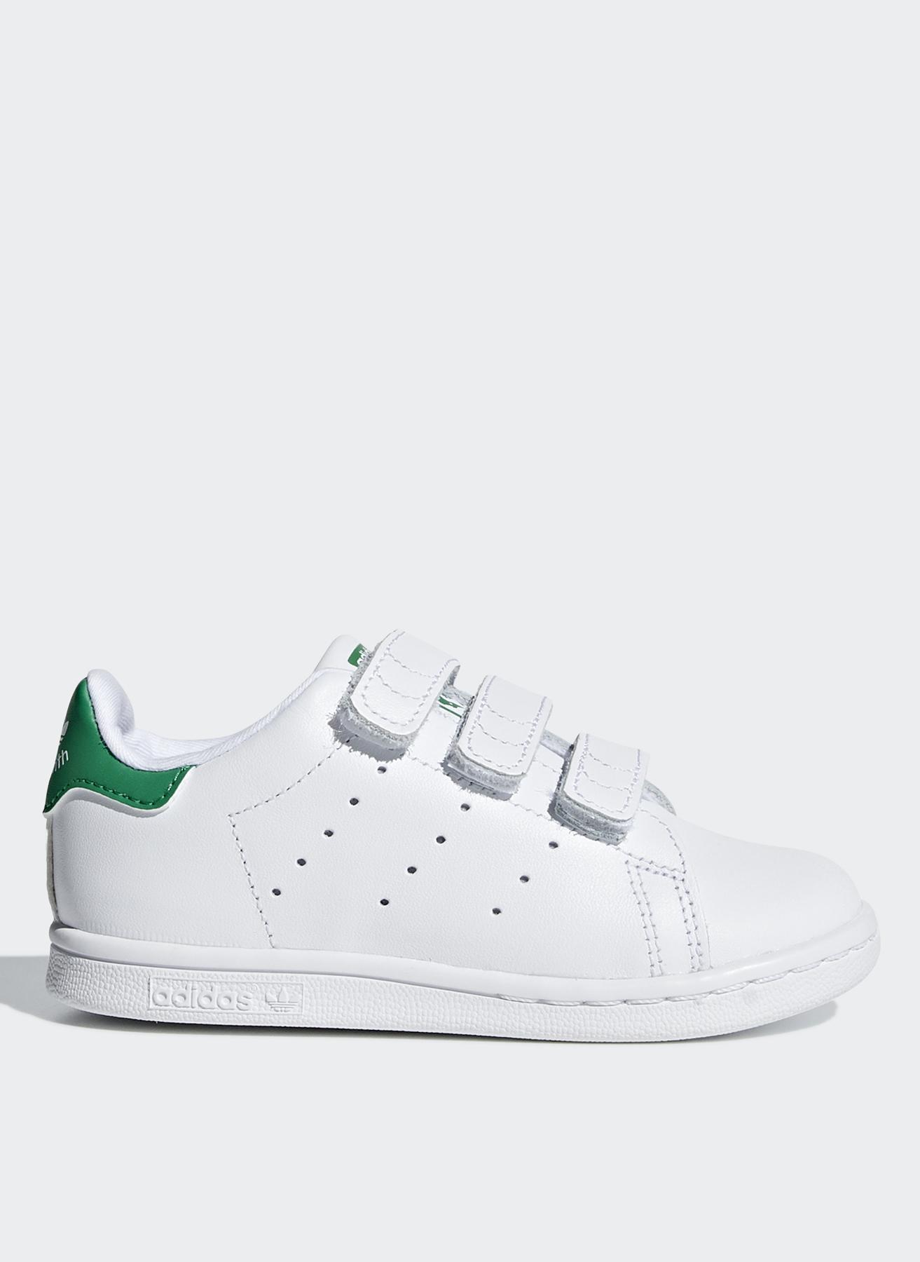c9664a7c865af 26.5 Erkek Beyaz - Yeşil adidas Yürüyüş Ayakkabısı 5002356093001 & Çanta  Çocuk Ayakkabıları Antrenman