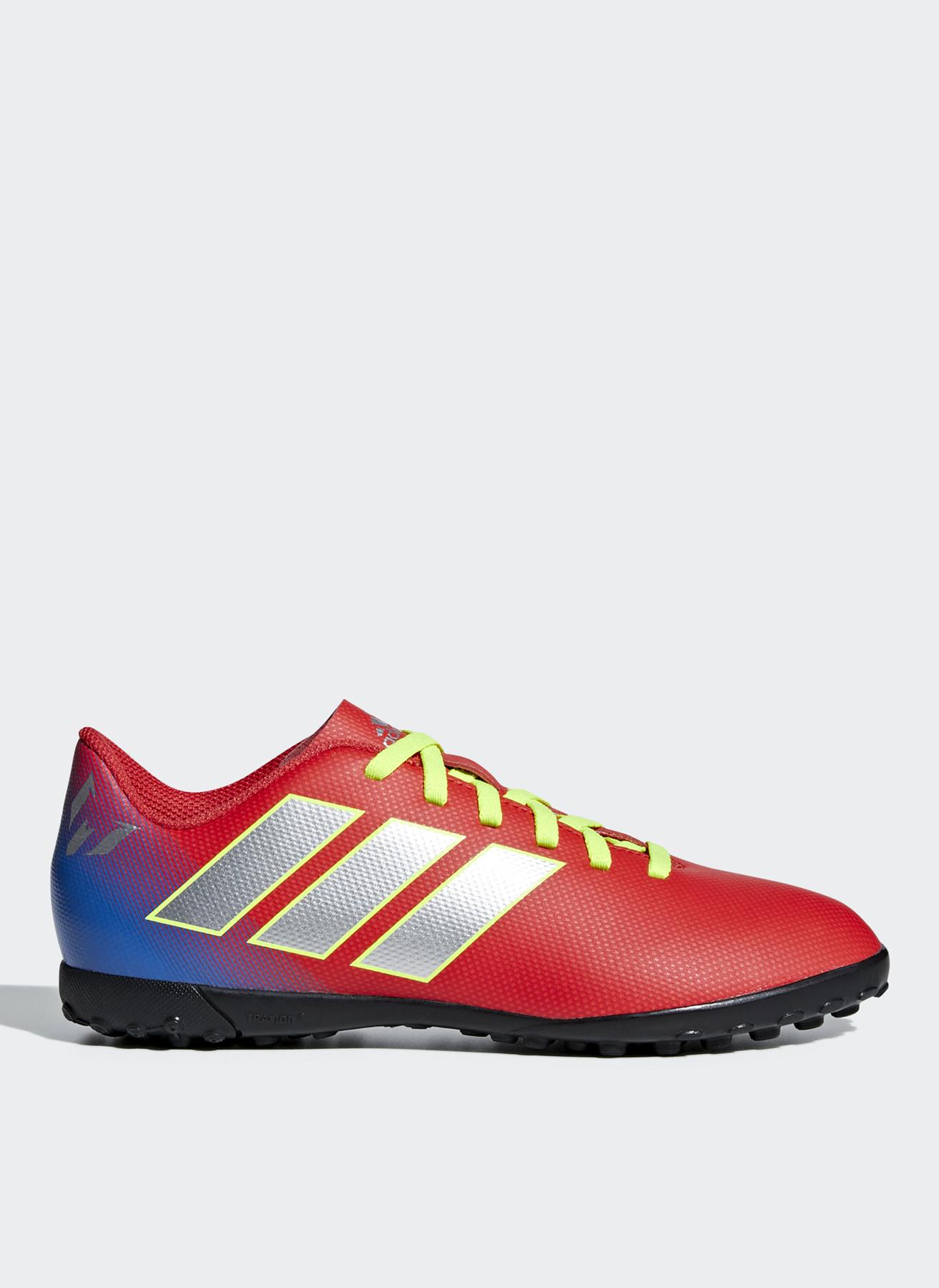 28837d4515ff3 31.5 Erkek Kırmızı - Gri Beyaz adidas CM8642 Nemeziz Messi 18.4 Tf Halı  Saha Ayakkabısı 5002357647009