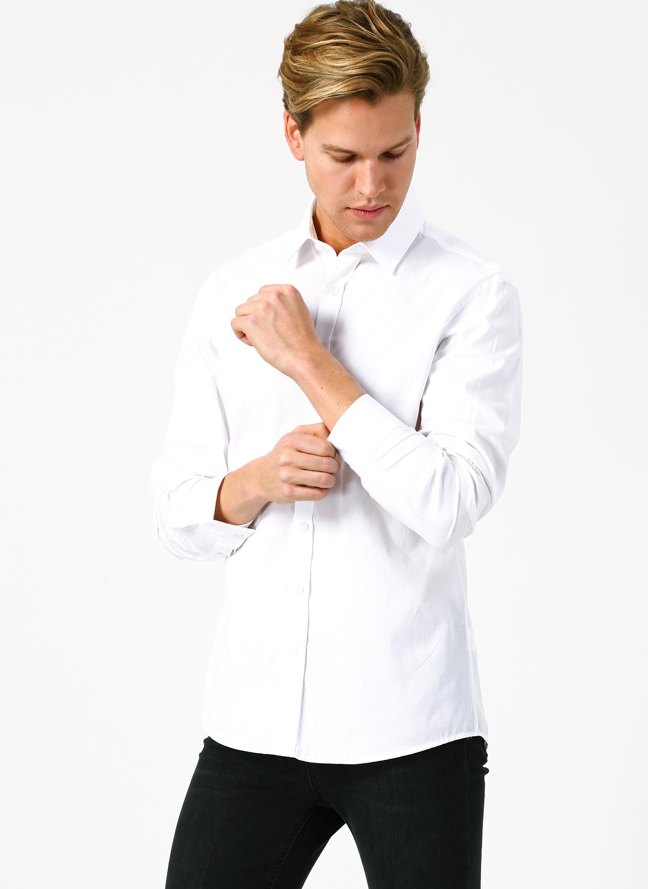 George Hogg Beyaz Gömlek 45 5002359898007 Ürün Resmi