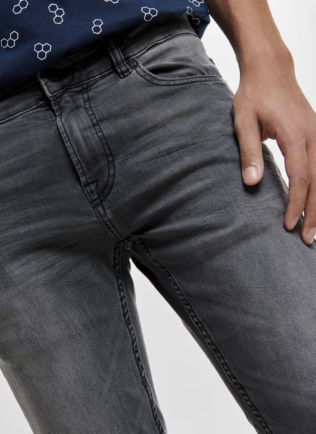 Only & Sons Skinny Gri Denim Pantolon 30-34 5002361315009 Ürün Resmi