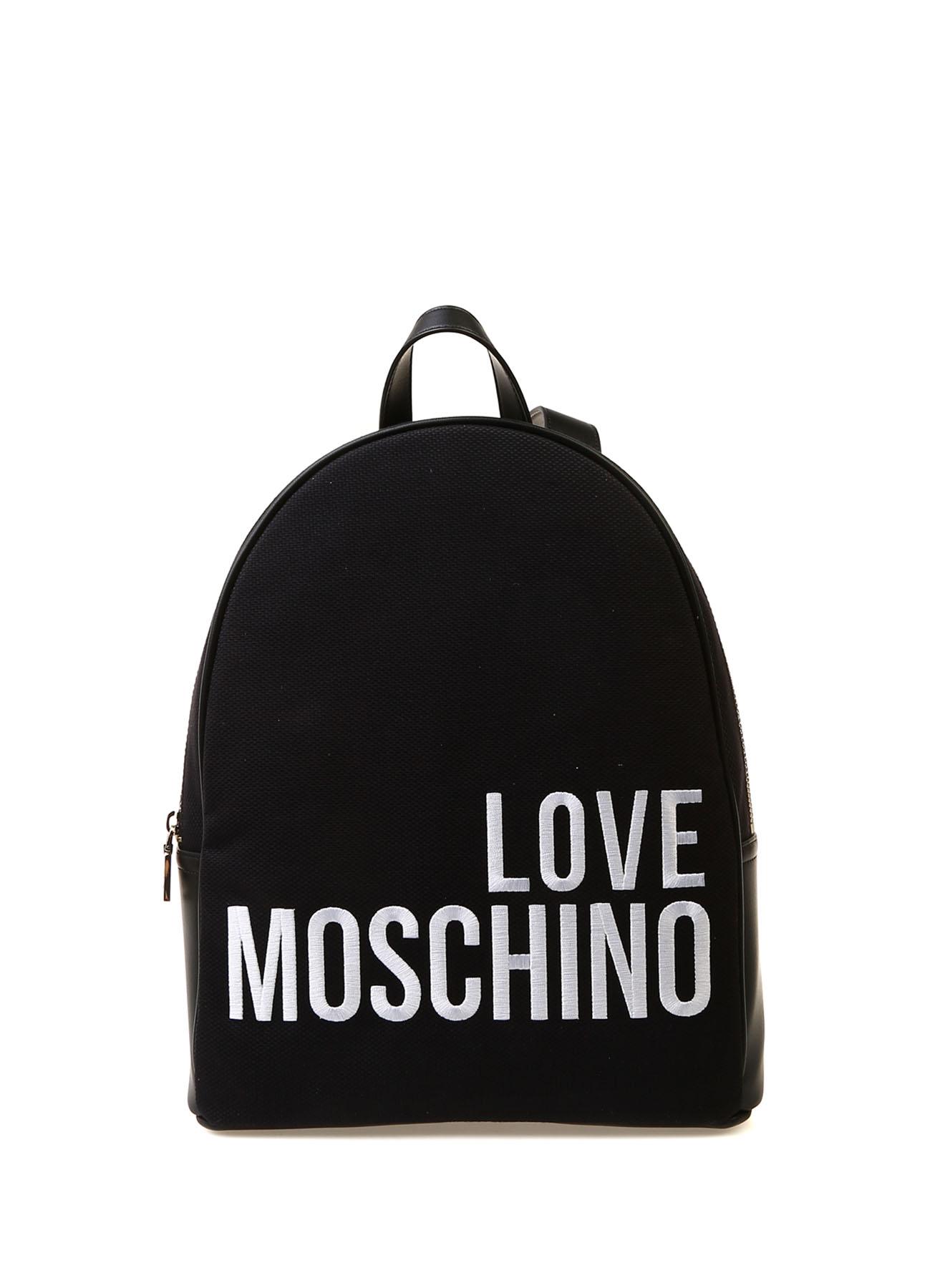 5f254e6f0db1e Siyah Love Moschino El Çantası 5002377594001 Ayakkabı & Kadın Omuz