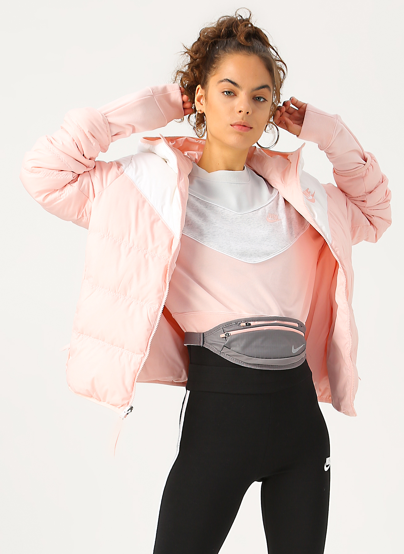 Nike Sportswear Kuş Tüyü Dolgulu Kadın Mont S 879653
